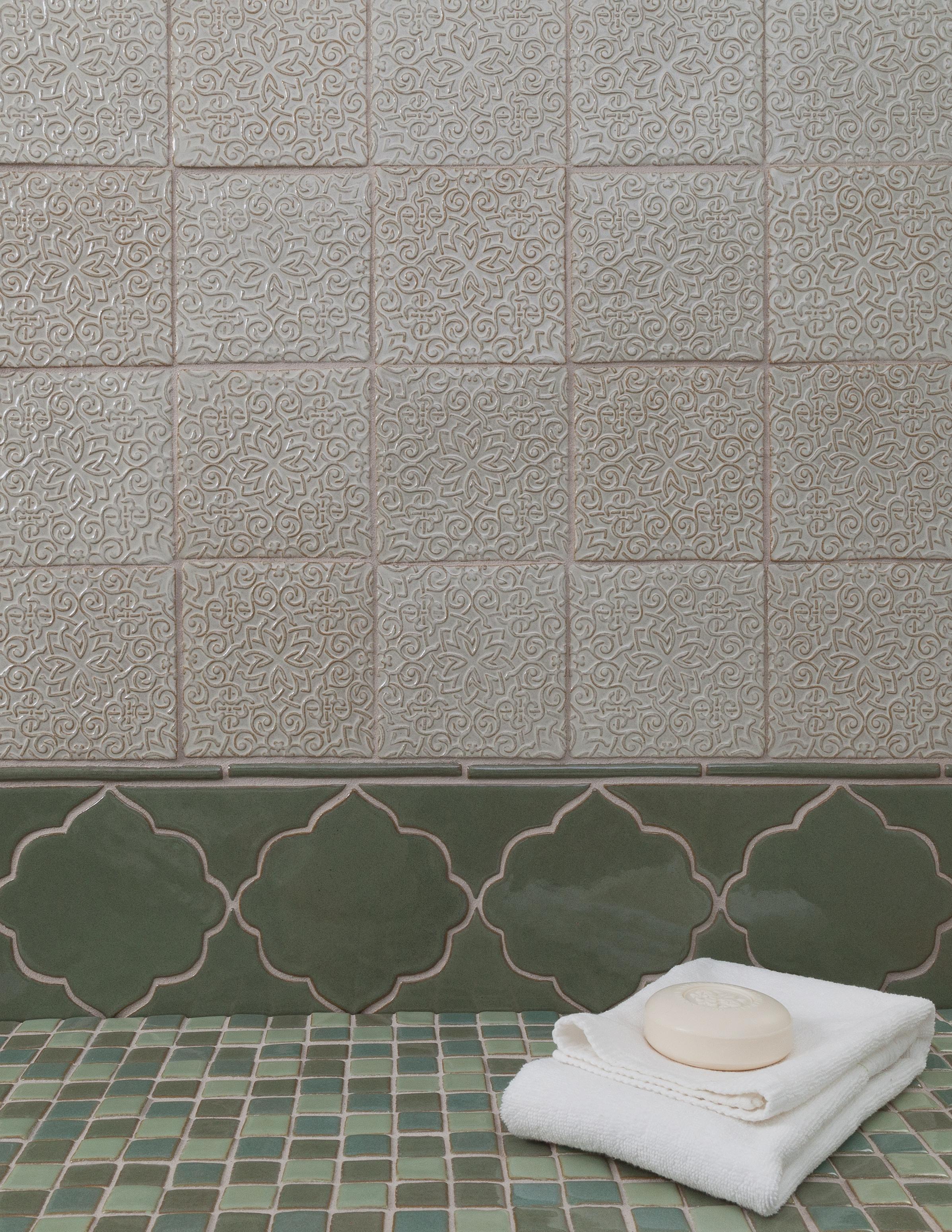 Fez textured field, Marrakesh Collection, Lilywork Artisan Tile.jpg
