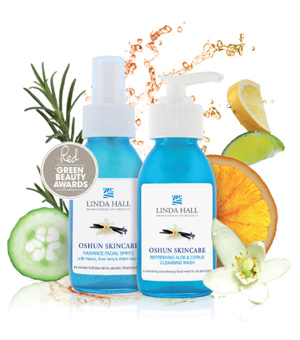 Oshun Skincare Natural Aromatherapy Product Collection from Linda Hall