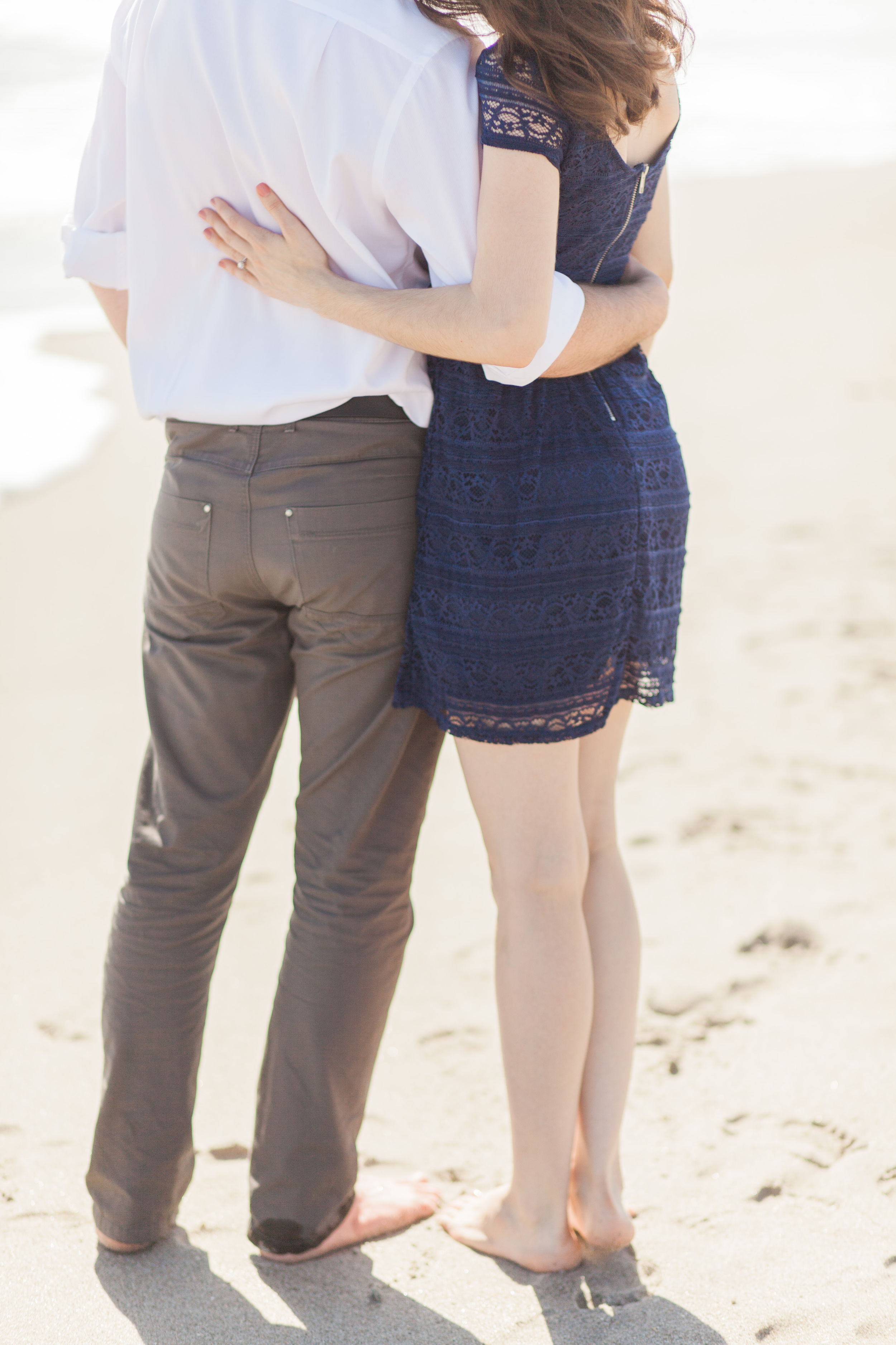 Chanae and Brandon Spessard Holland North Beach Park Engagement Session | Michelle Mock Photography | Melbourne Wedding Photographer