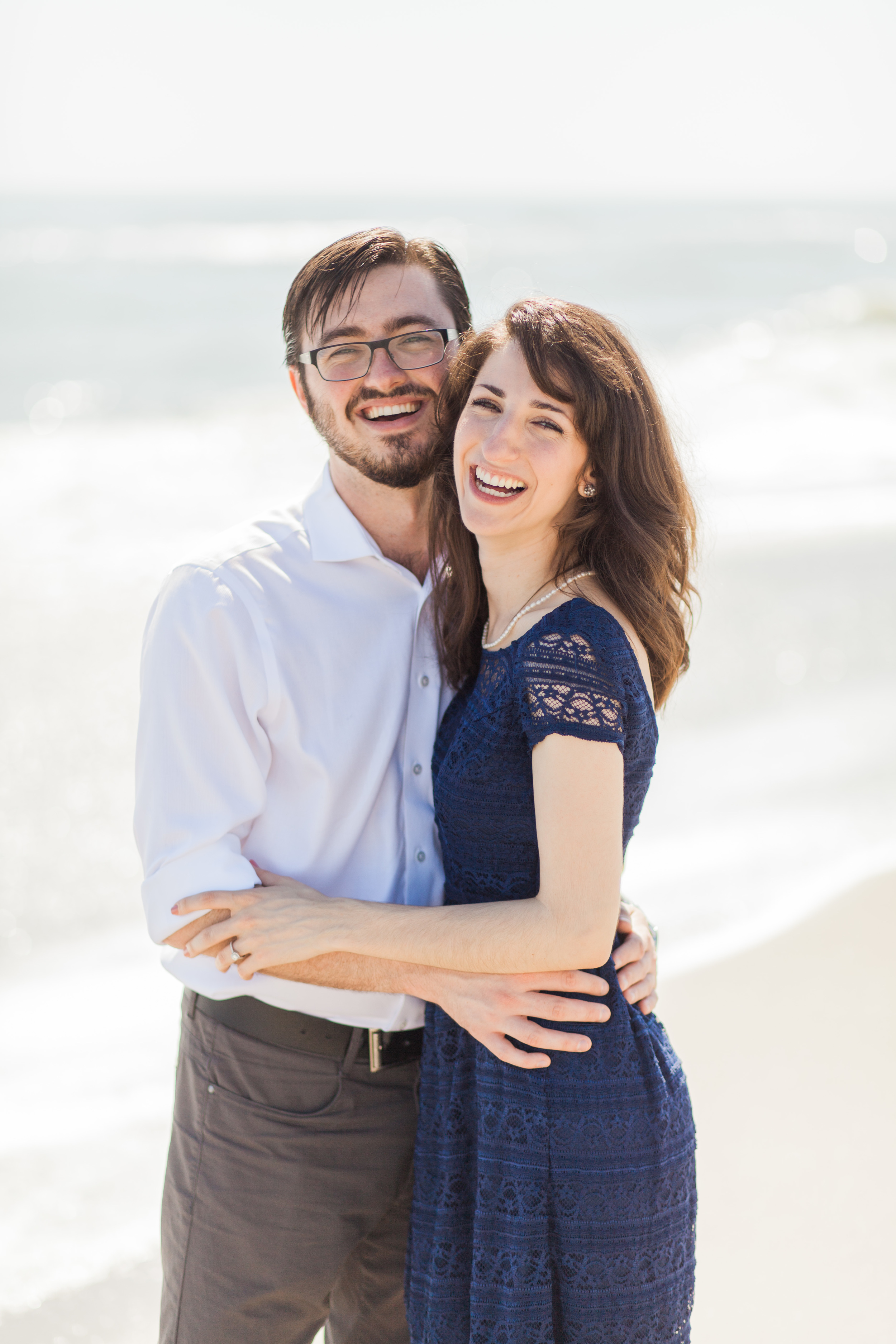 Chanae and Brandon Spessard Holland North Beach Park Engagement Session | Michelle Mock Photography | Melbourne Portrait Photographer