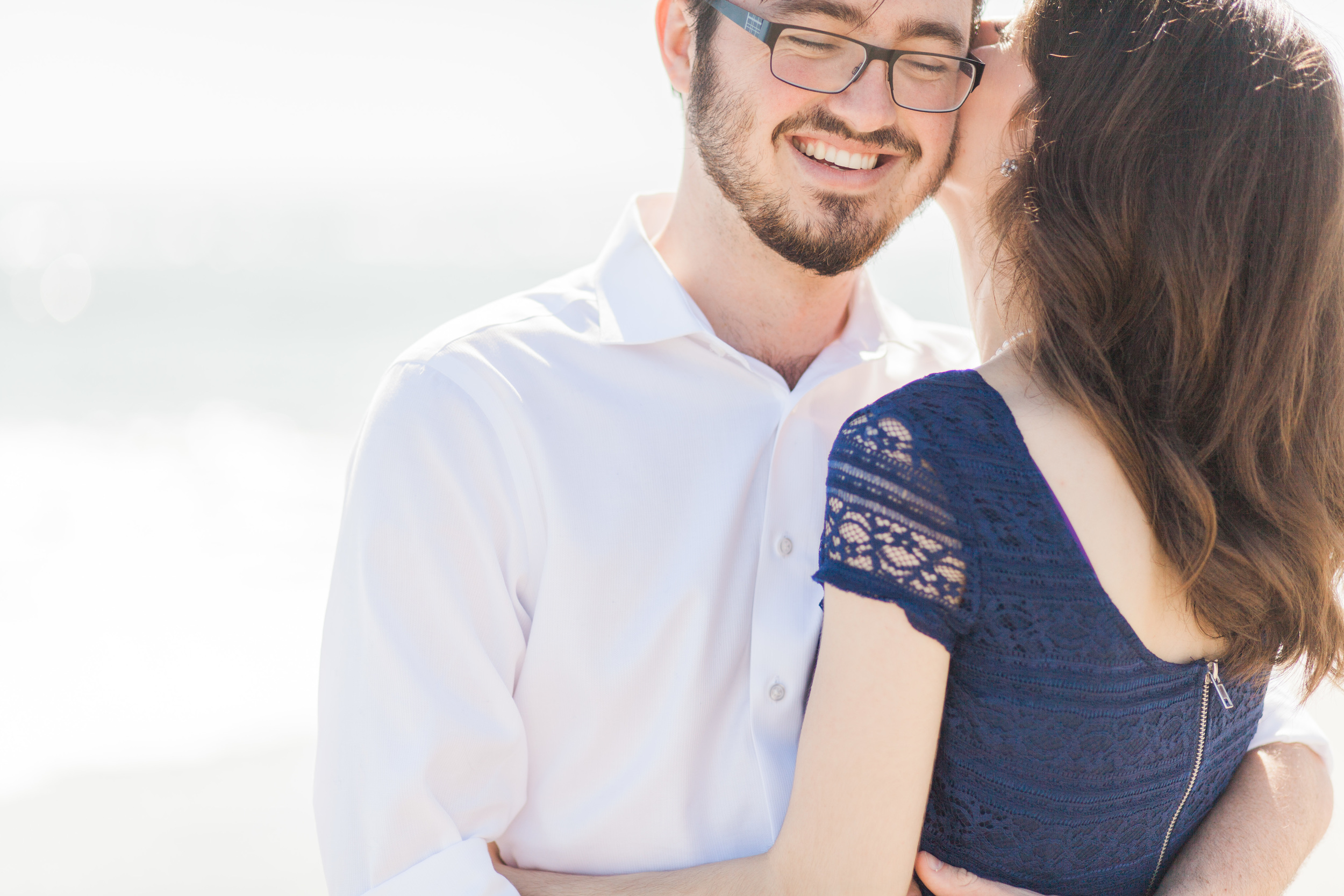 Chanae and Brandon Spessard Holland North Beach Park Engagement Session | Michelle Mock Photography | Florida Wedding Photographer