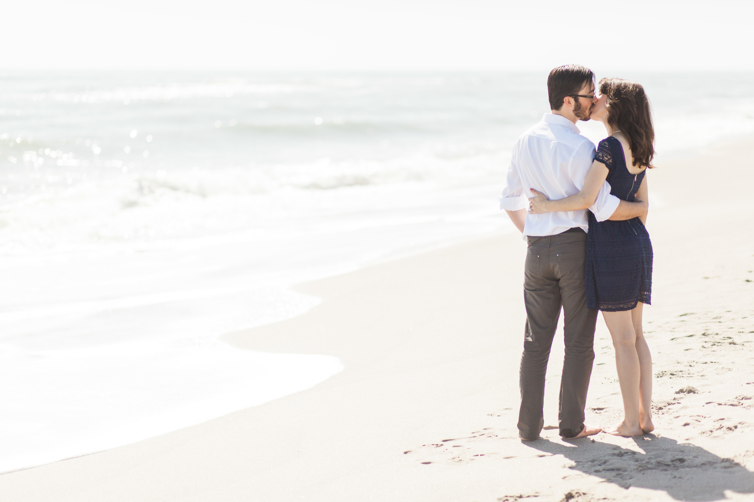 Chanae and Brandon Spessard Holland North Beach Park Engagement Session | Michelle Mock Photography | Florida Engagement Photographer