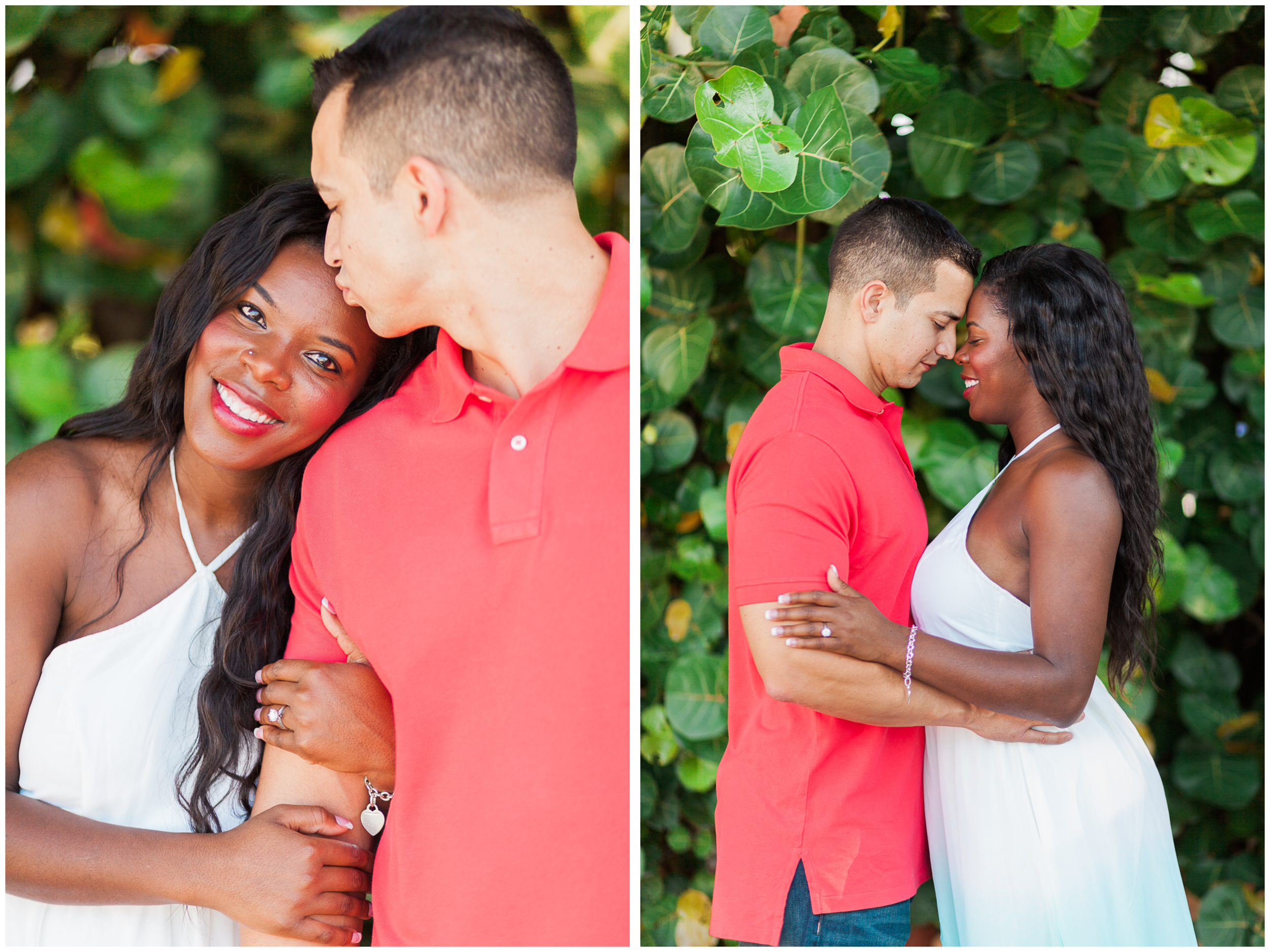 Tiara and Luis Engagement Session | Pelican Beach | Satellite Beach, Florida | Michelle Mock Photography