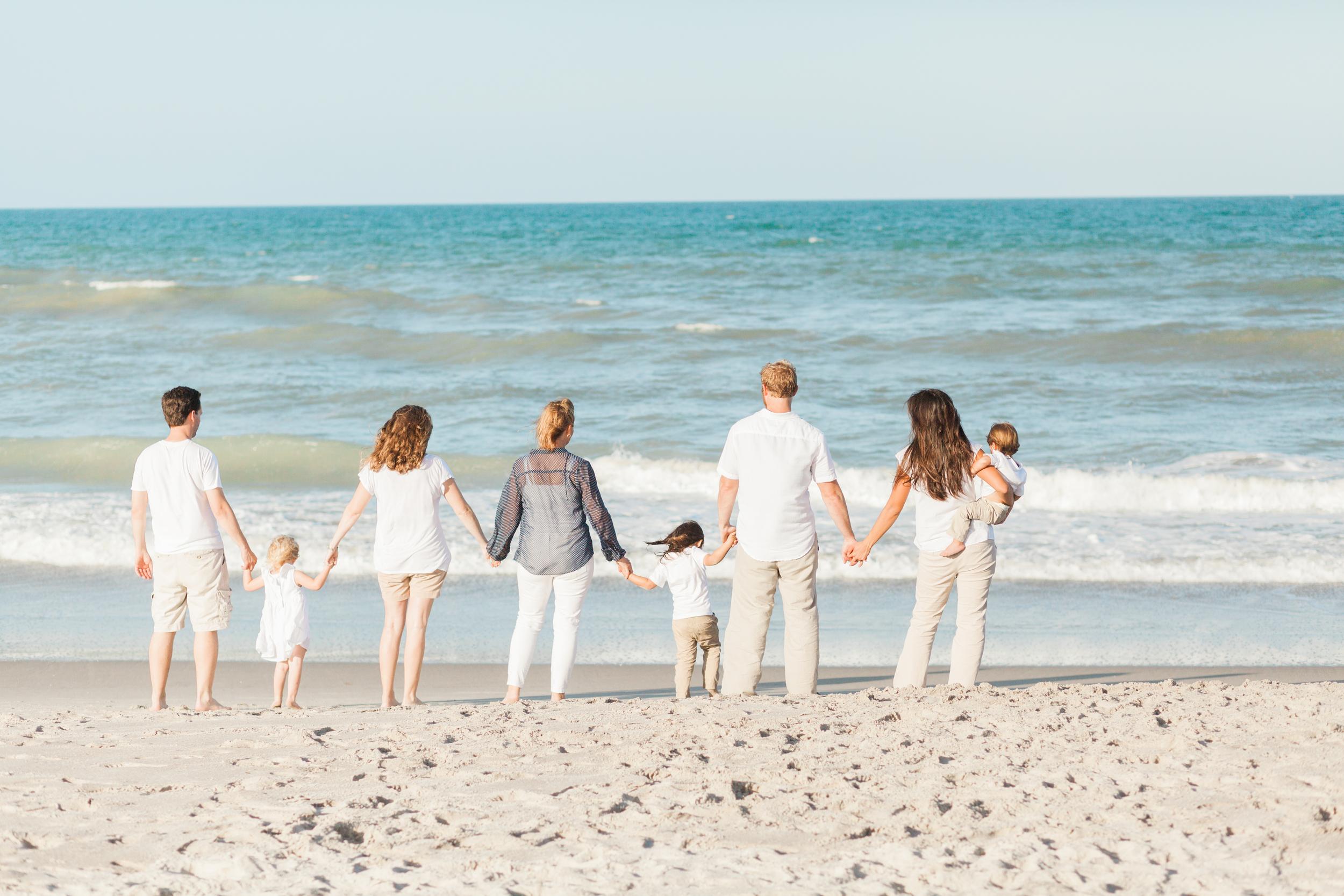 McKee Family Beach Photos | Melbourne, Florida | Michelle Mock Photography