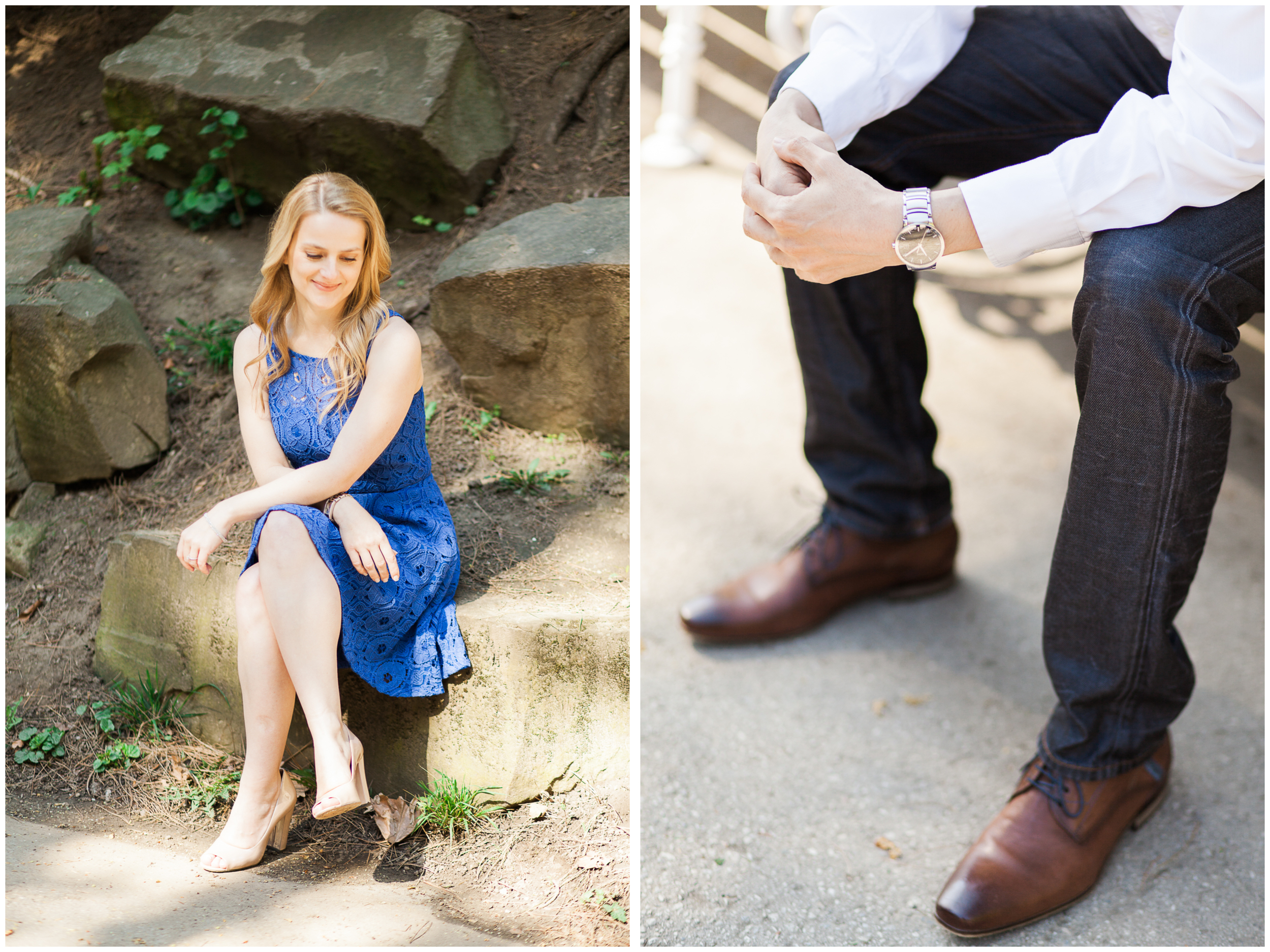 Connie and Danny's Engagement Session | Türkenschanzpark | Vienna, Austria | Michelle Mock Photography