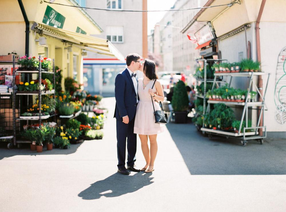 Karmelitermarkt | Vienna, Austria | Wedding Portraits | Michelle Mock Photography