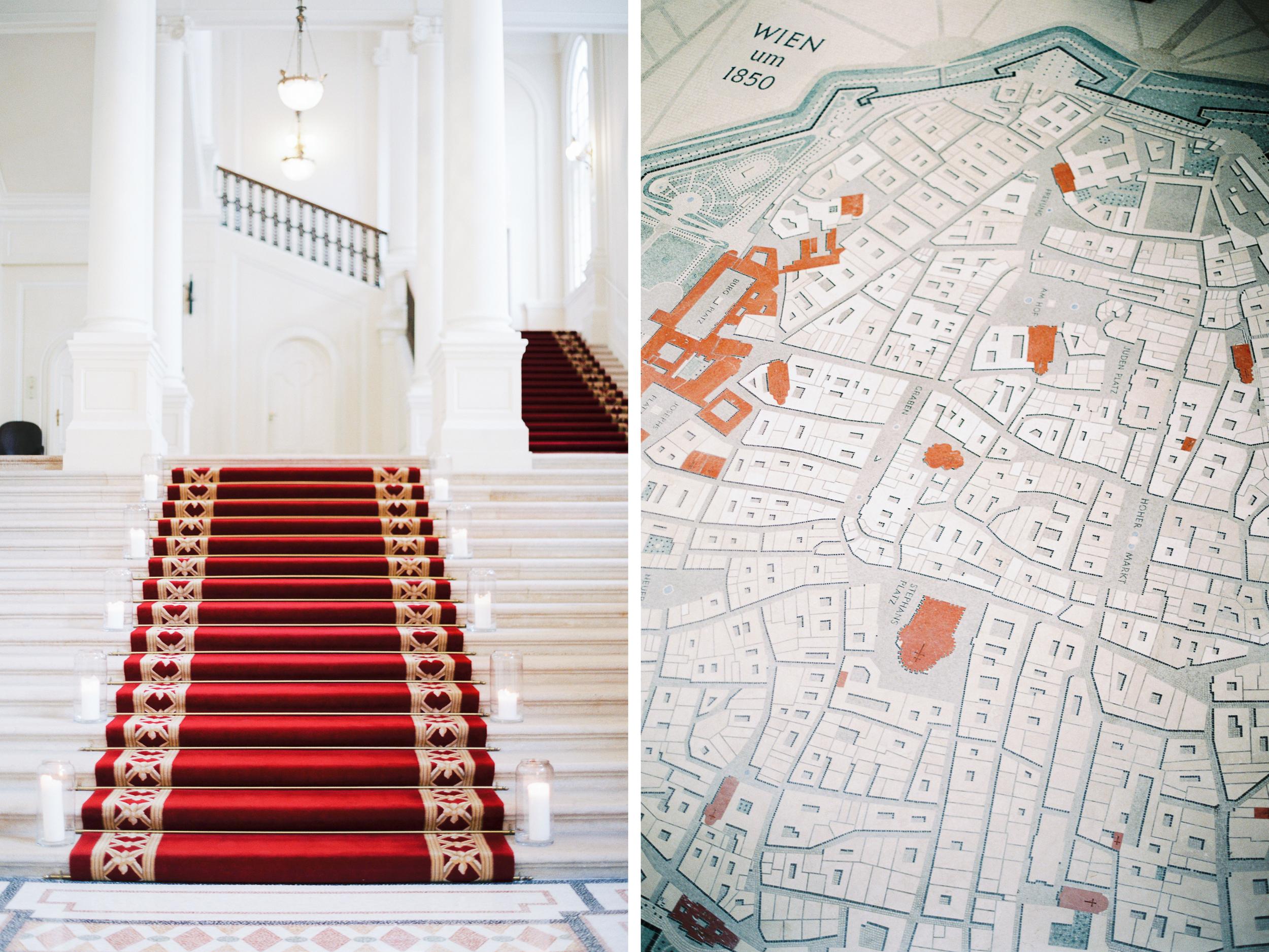 Vienna, Austria | Palais Coburg Wedding | Michelle Mock Photography | Vienna Wedding Photographer | Vienna Film Photographer