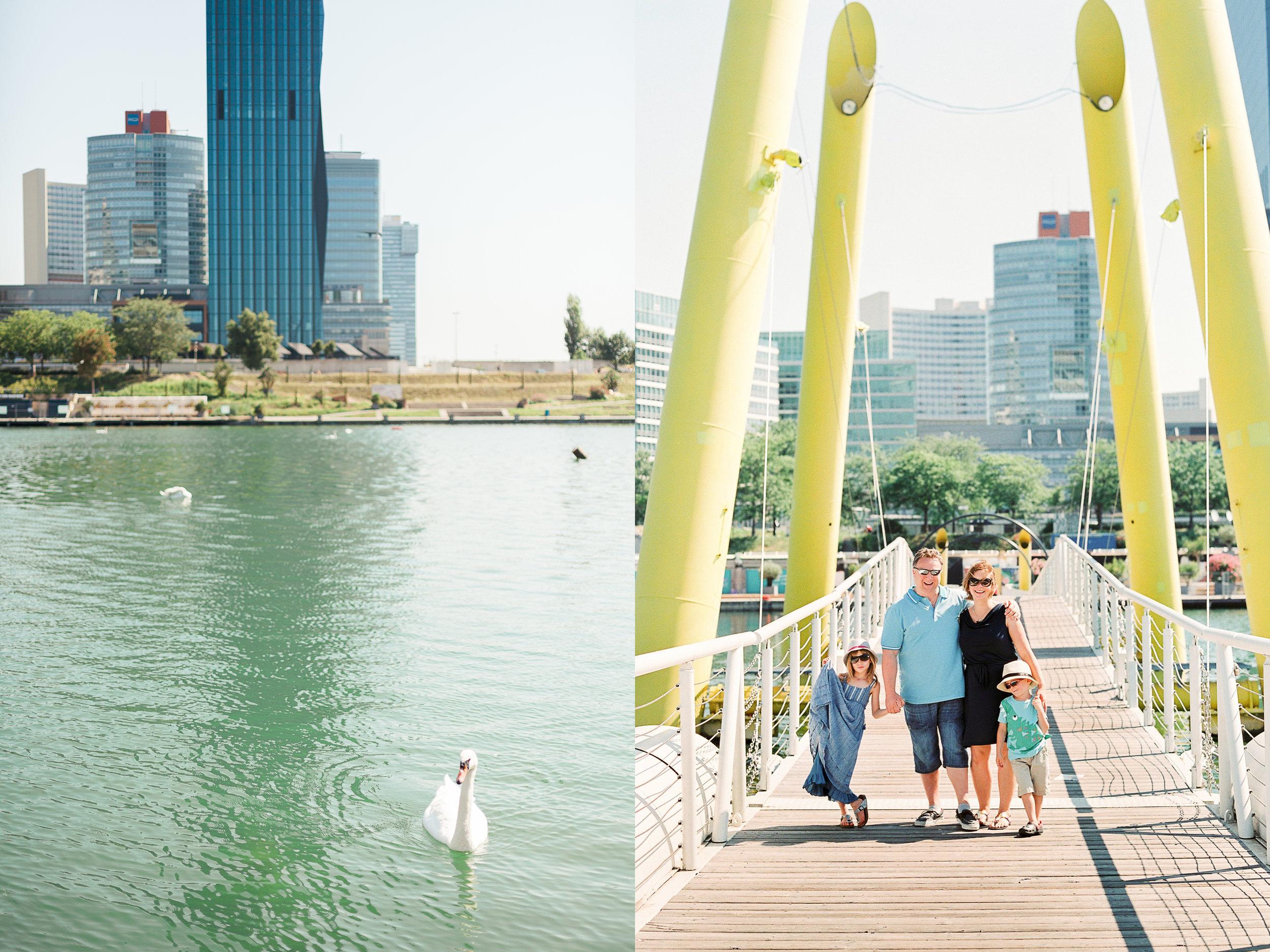 Donauinsel, Vienna | Family Portraits | Michelle Mock Photography | Portrait Photographer | Vienna Film Photographer | Contax 645 | Fuji400