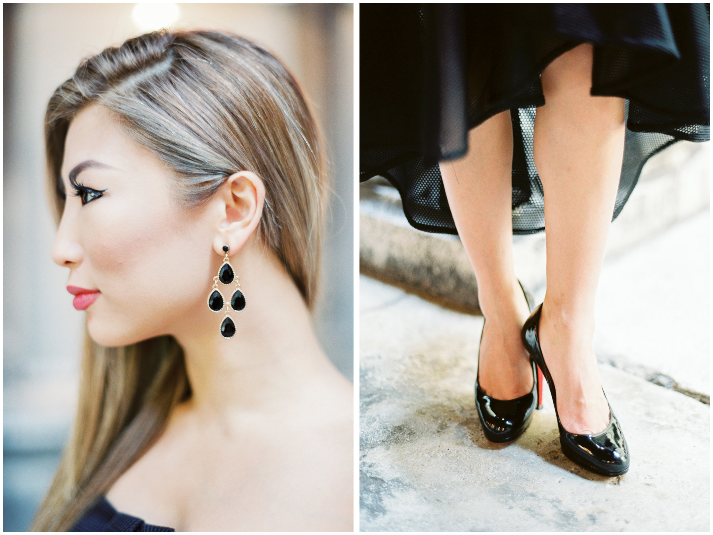 Fashion Portraits | Rathaus, Vienna | Michelle Mock Photography | Vienna Portrait Photographer | Vienna Film Photographer | Contax 645 | Fuji400