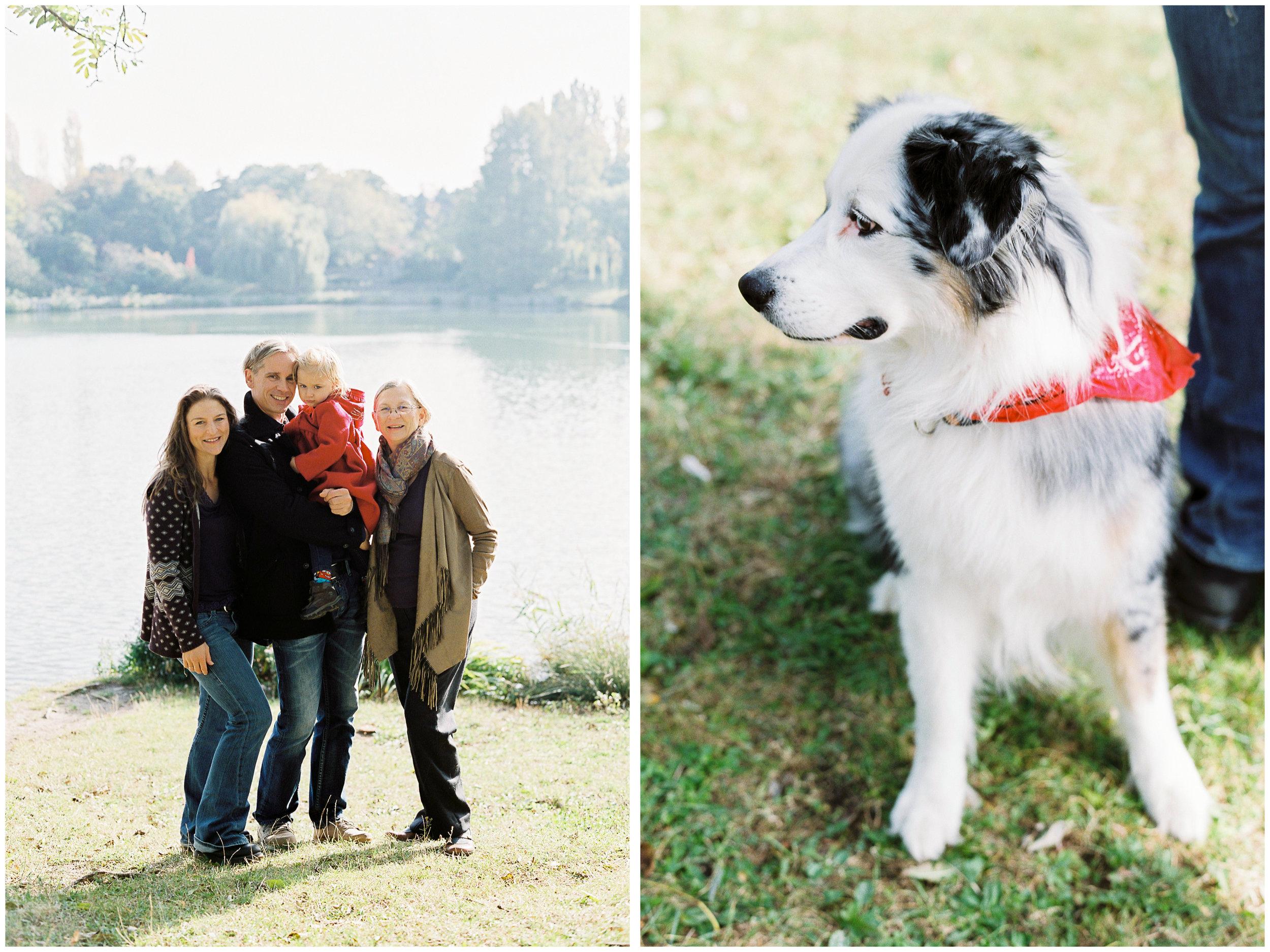 Family Fall Portraits | Kurpark Oberlaa, Vienna | Michelle Mock Photography | Vienna Portrait Photographer | Vienna Film Photographer | Contax 645 | Fuji400