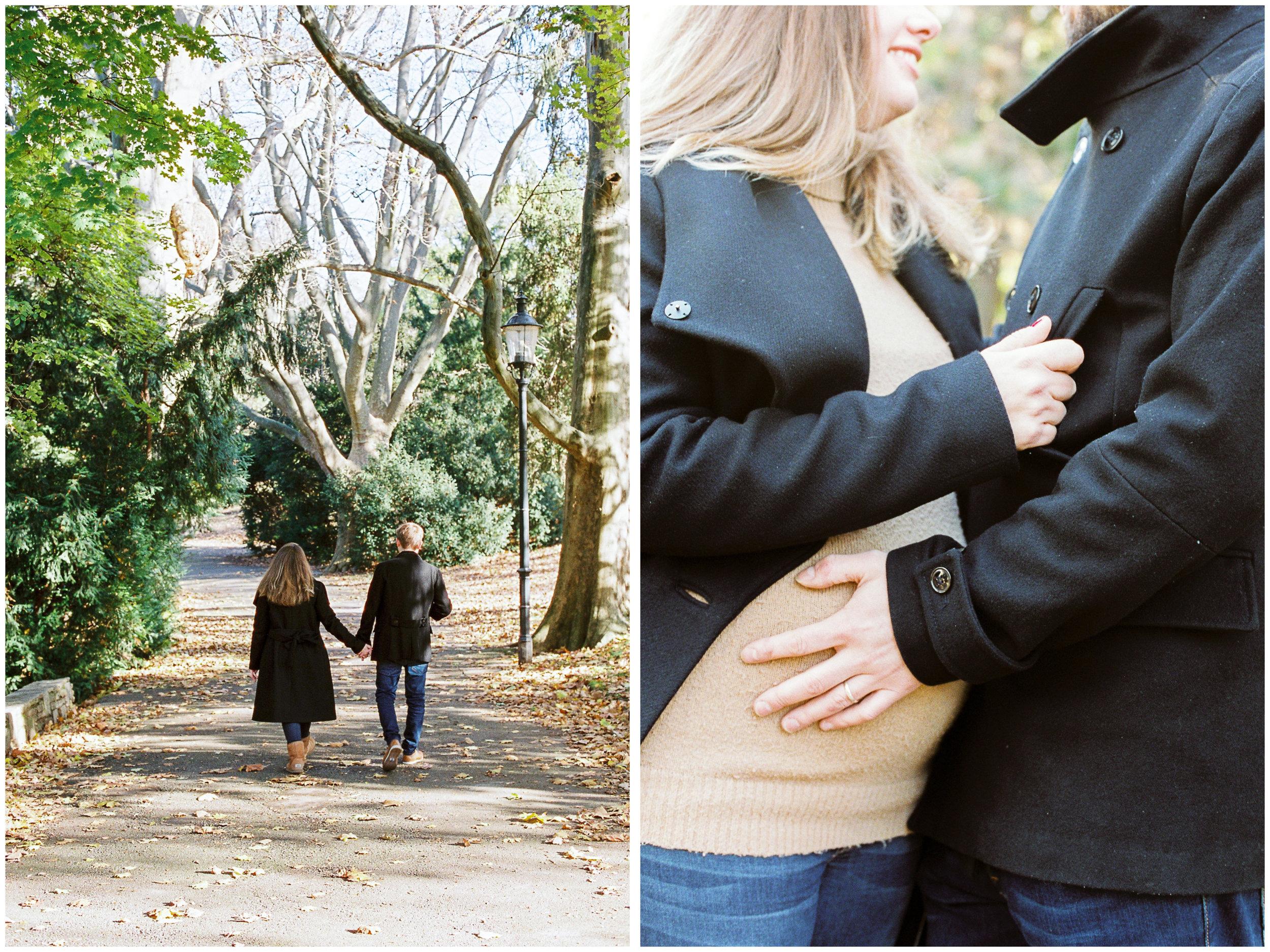 Maternity Portraits | Türkenschanzpark, Vienna, Austria | Michelle Mock Photography | Vienna Portrait Photographer | Vienna Film Photographer | Contax 645 | Fuji400H