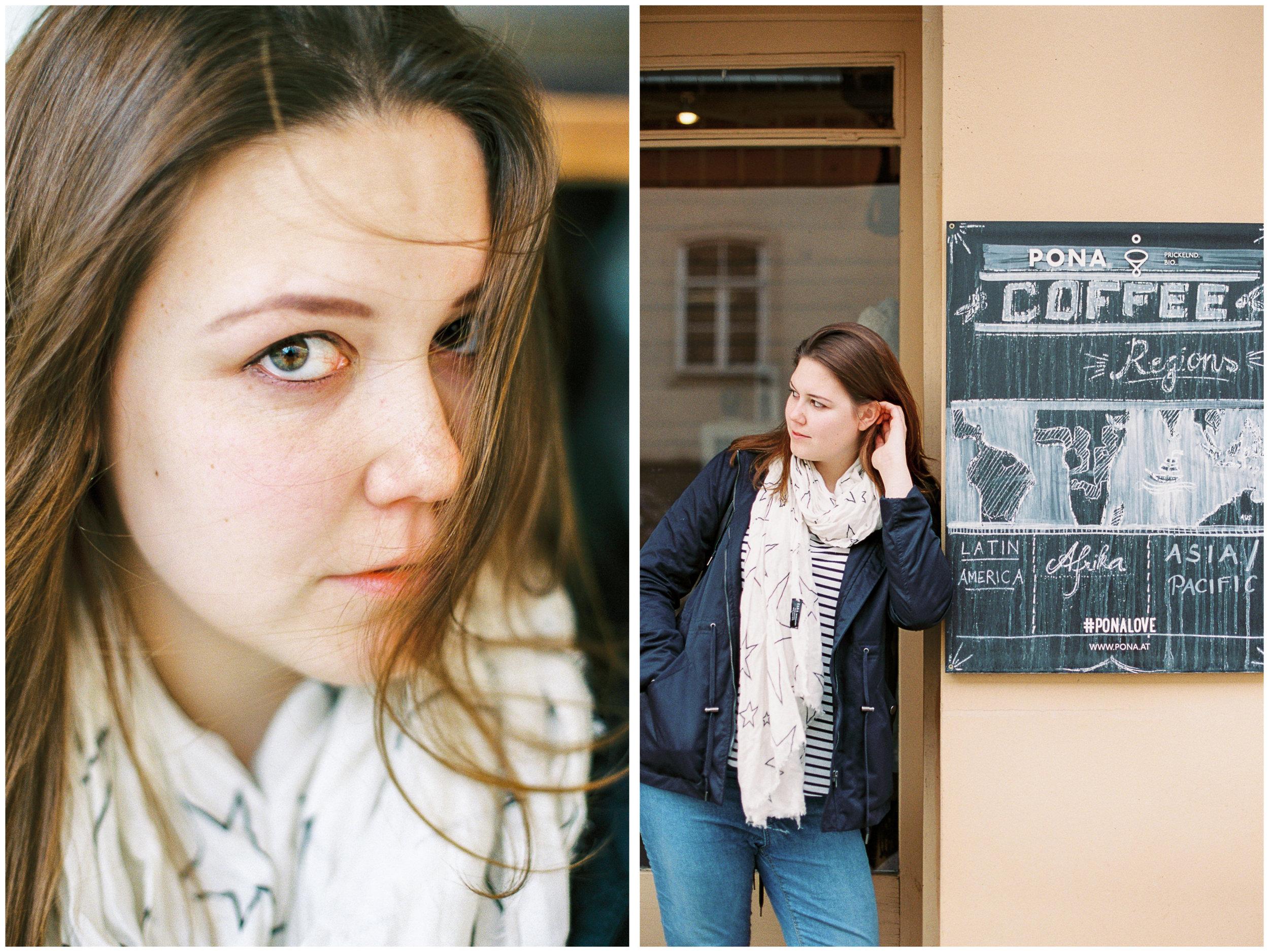 Michelle Mock Photography | Anastasia of Bumaga | Vienna Portrait Photographer | Coffee Pirates | Vienna Austria