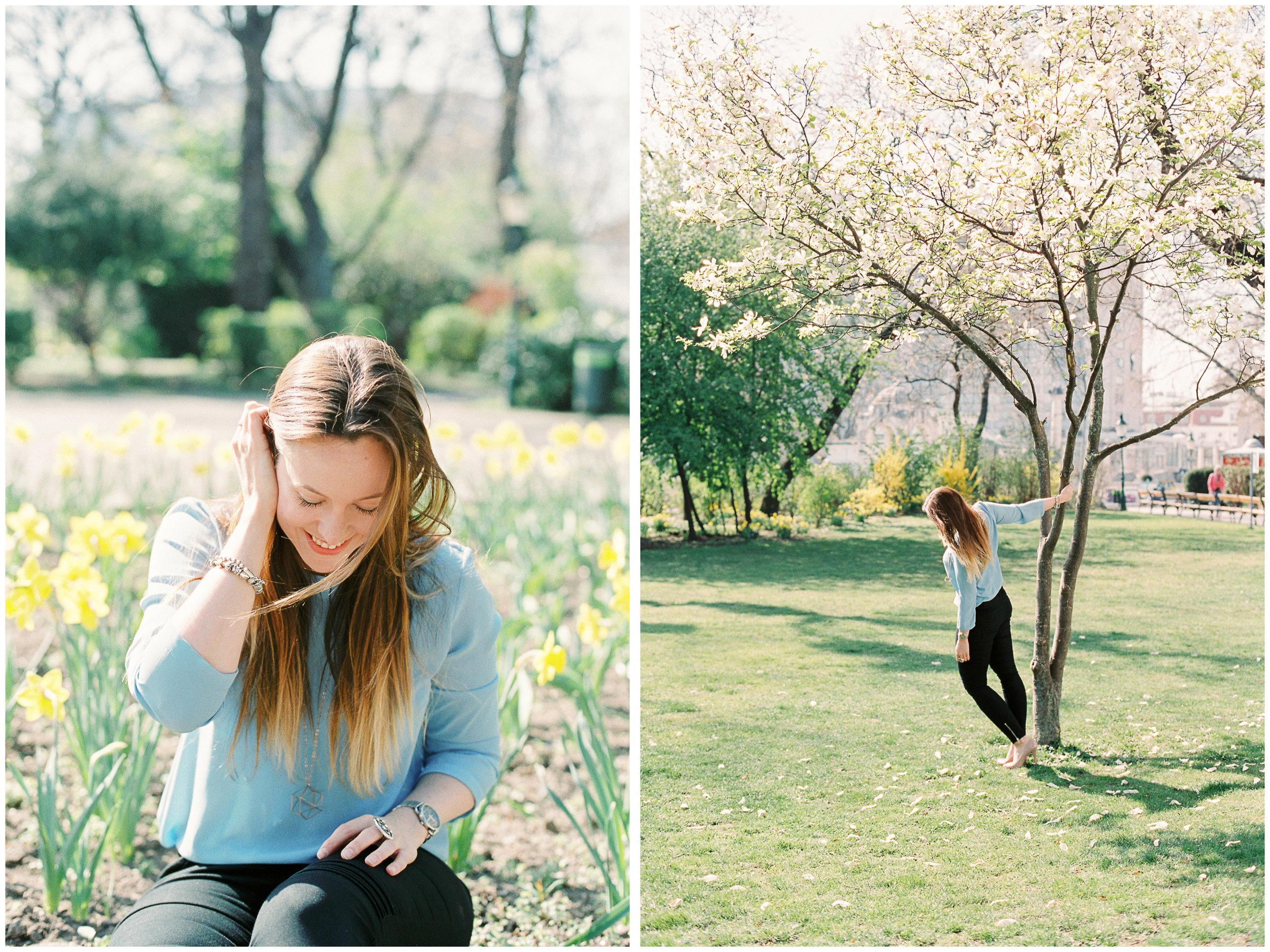 Blogger Portraits | Vienna, Austria | Michelle Mock Photography | Vienna Portrait Photographer | Vienna Film Photographer | Canon 1V | Fuji400