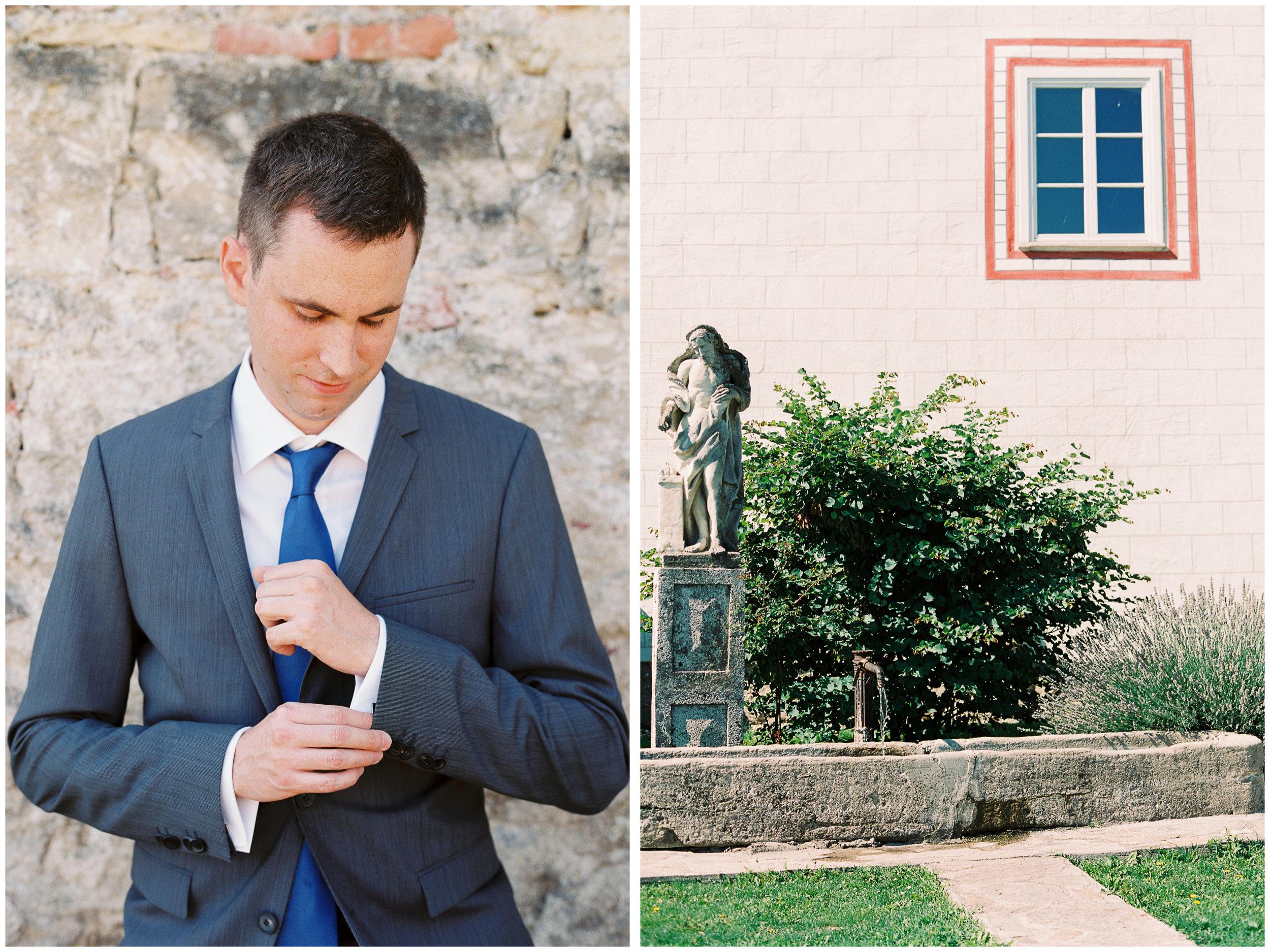 Austria Wedding | Thallern, Austria | Michelle Mock Photography | Vienna Wedding Photographer | Austrian Film Photographer | Contax 645 | Fuji400H