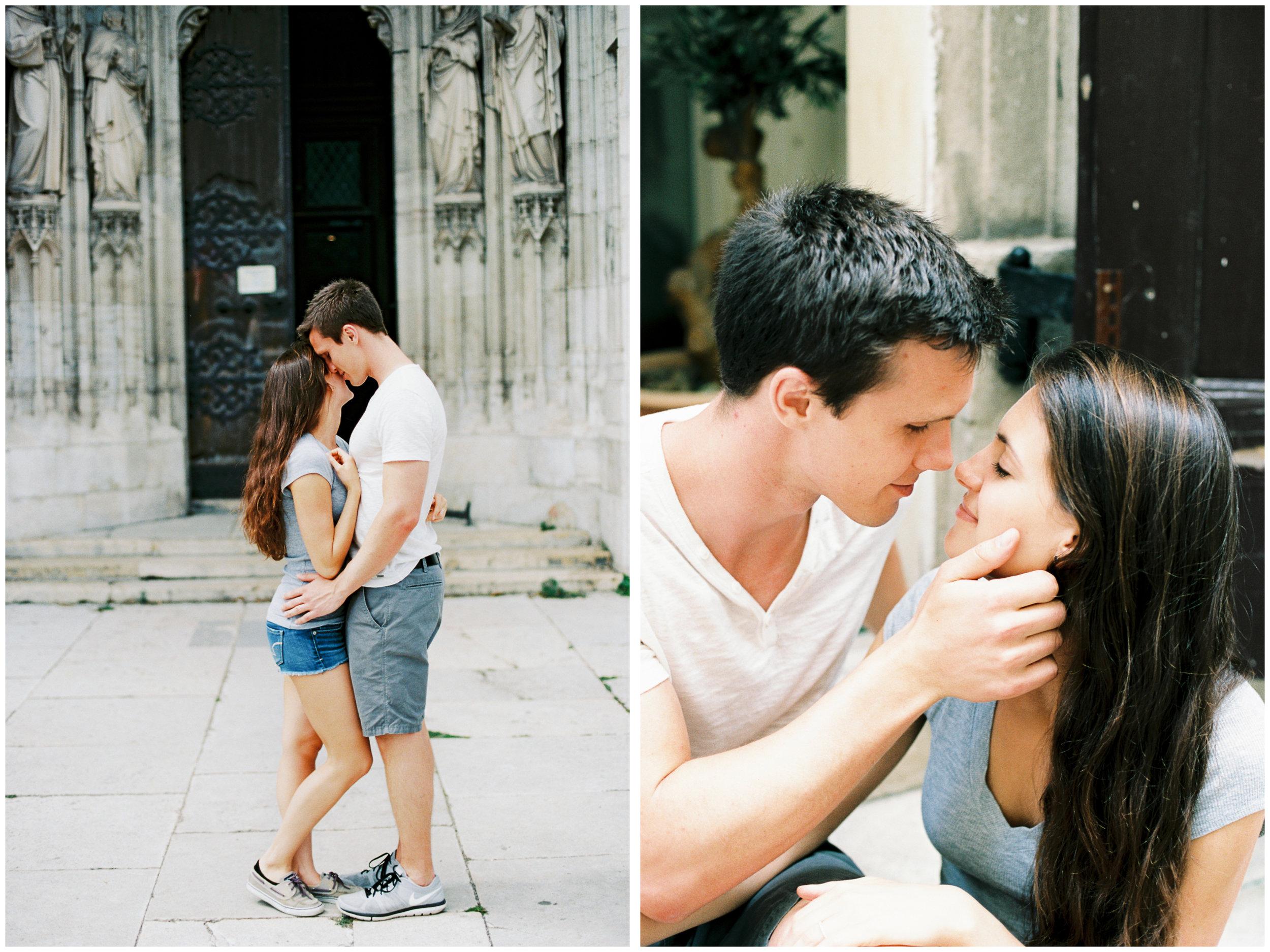 Engagement Portraits | Vienna, Austria | Michelle Mock Photography | Vienna Portrait Photographer | Vienna Film Photographer | Canon 1V | Portra 160