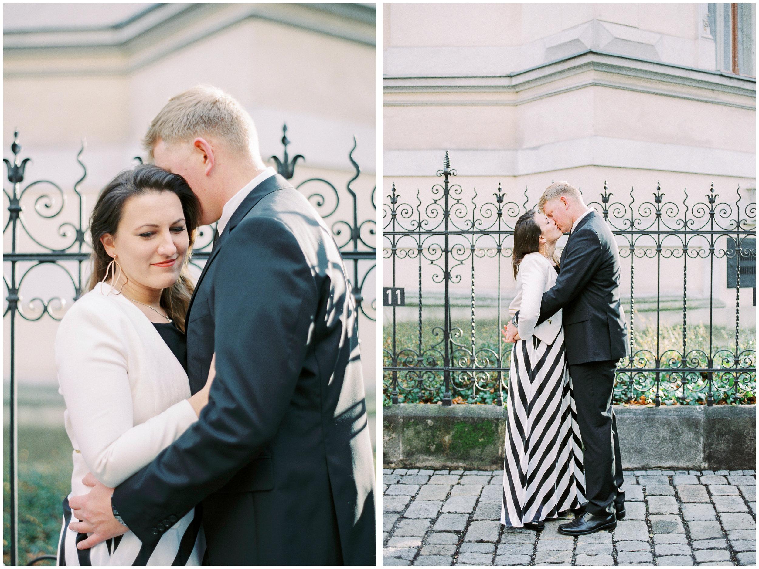 Courthouse Wedding Photos | Vienna, Austria | Fuji400H | Contax645 | Vienna Film Photographer | Michelle Mock Photography