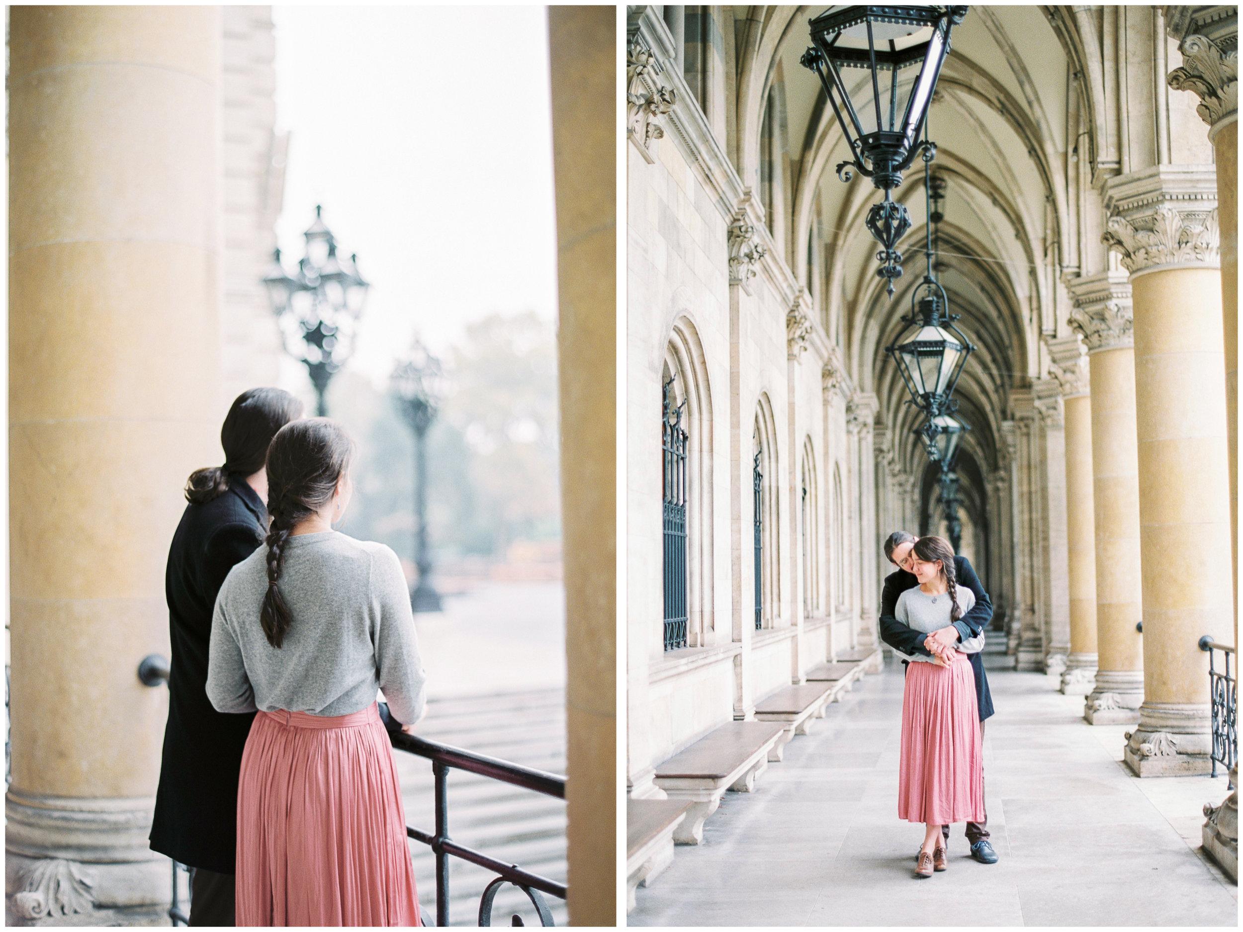 Anniversary Photos | Vienna, Austria | Fuji400H | Contax645 | Vienna Film Photographer | Michelle Mock Photography