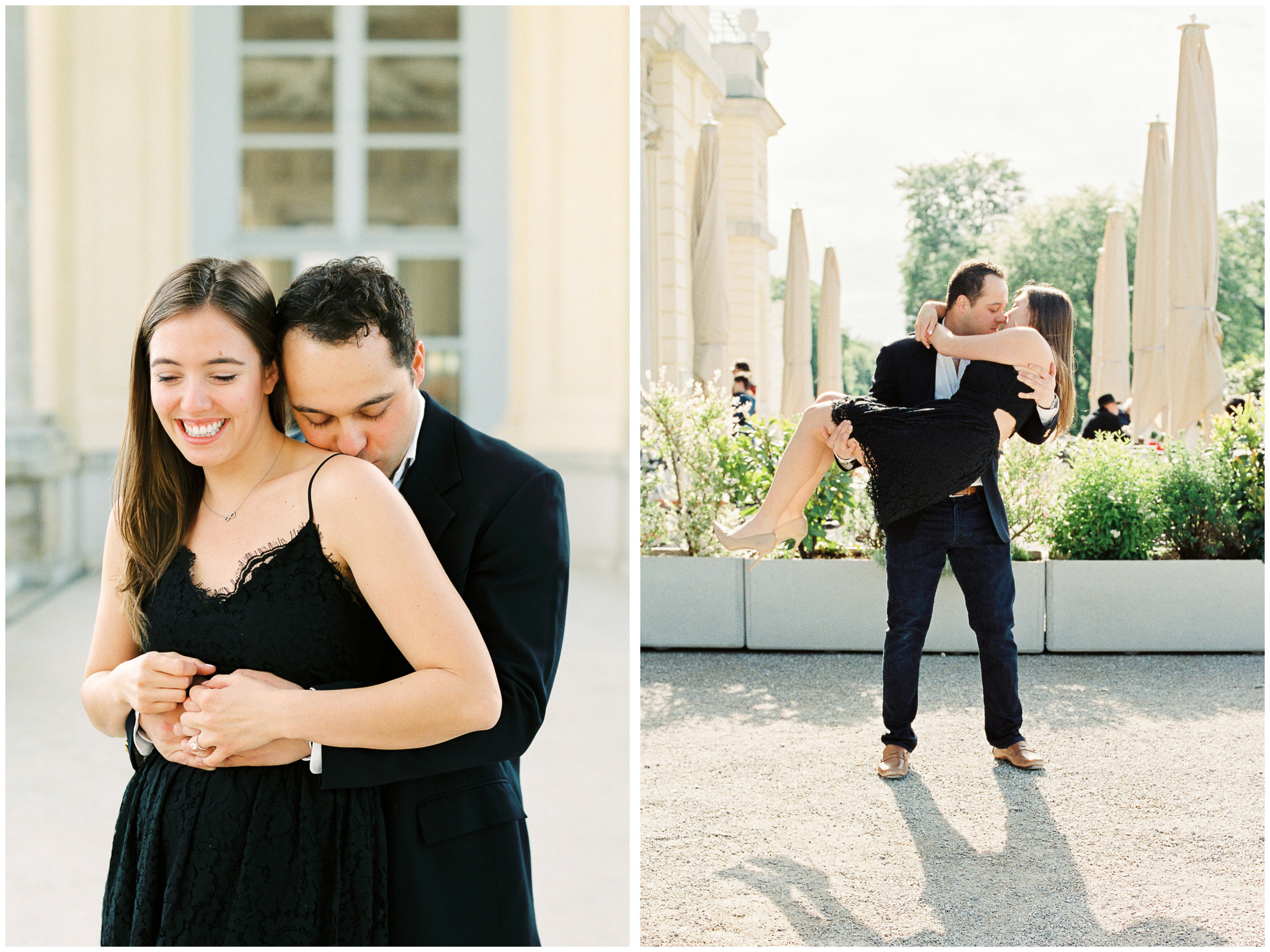 Engagement session | The Gloriette, Vienna | Michelle Mock Photography | Vienna Photographer | Contax 645 | Fuji400H