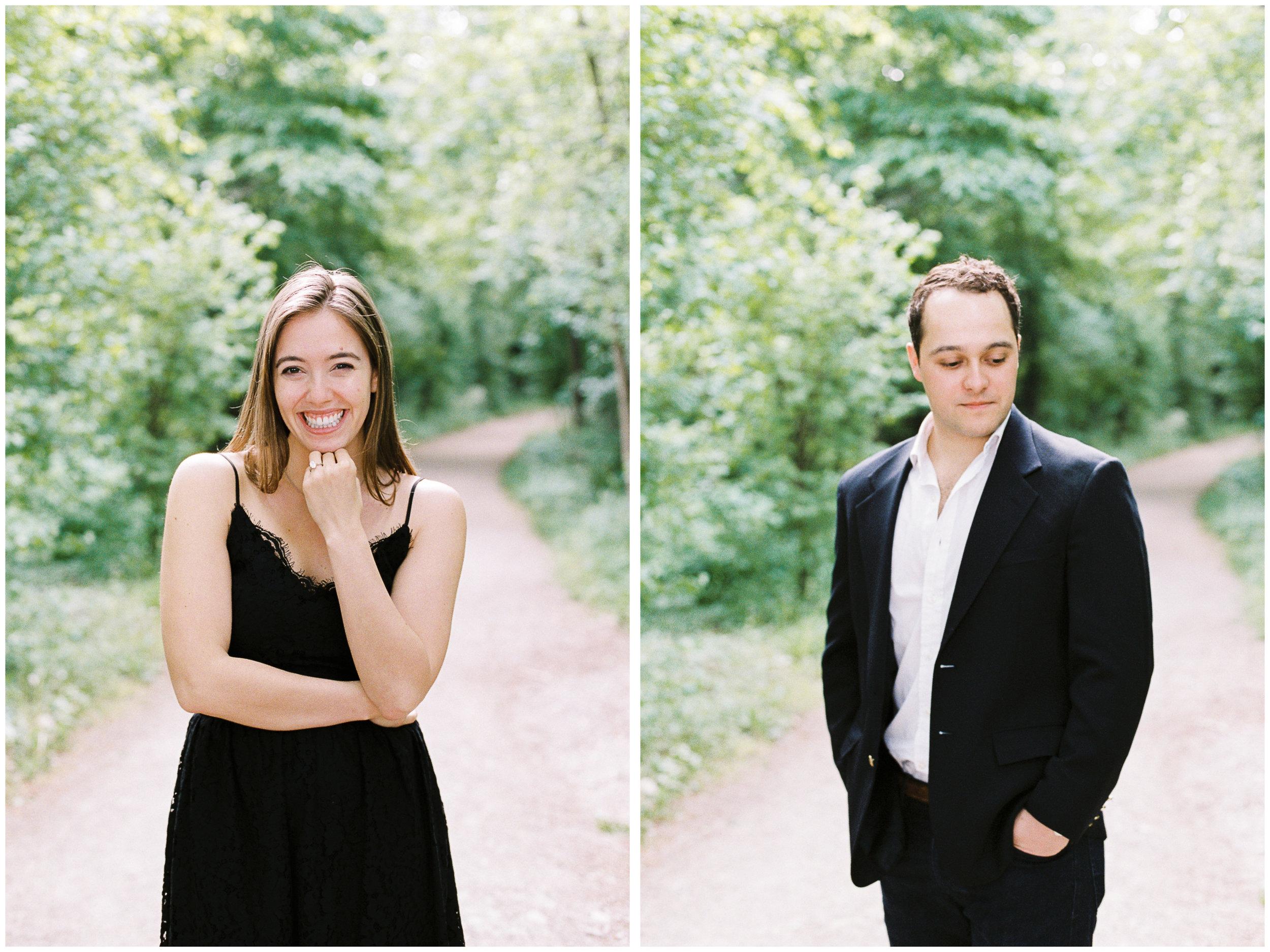 Secret Proposal Session | The Gloriette, Vienna | Michelle Mock Photography | Vienna Photographer | Contax 645 | Fuji400H
