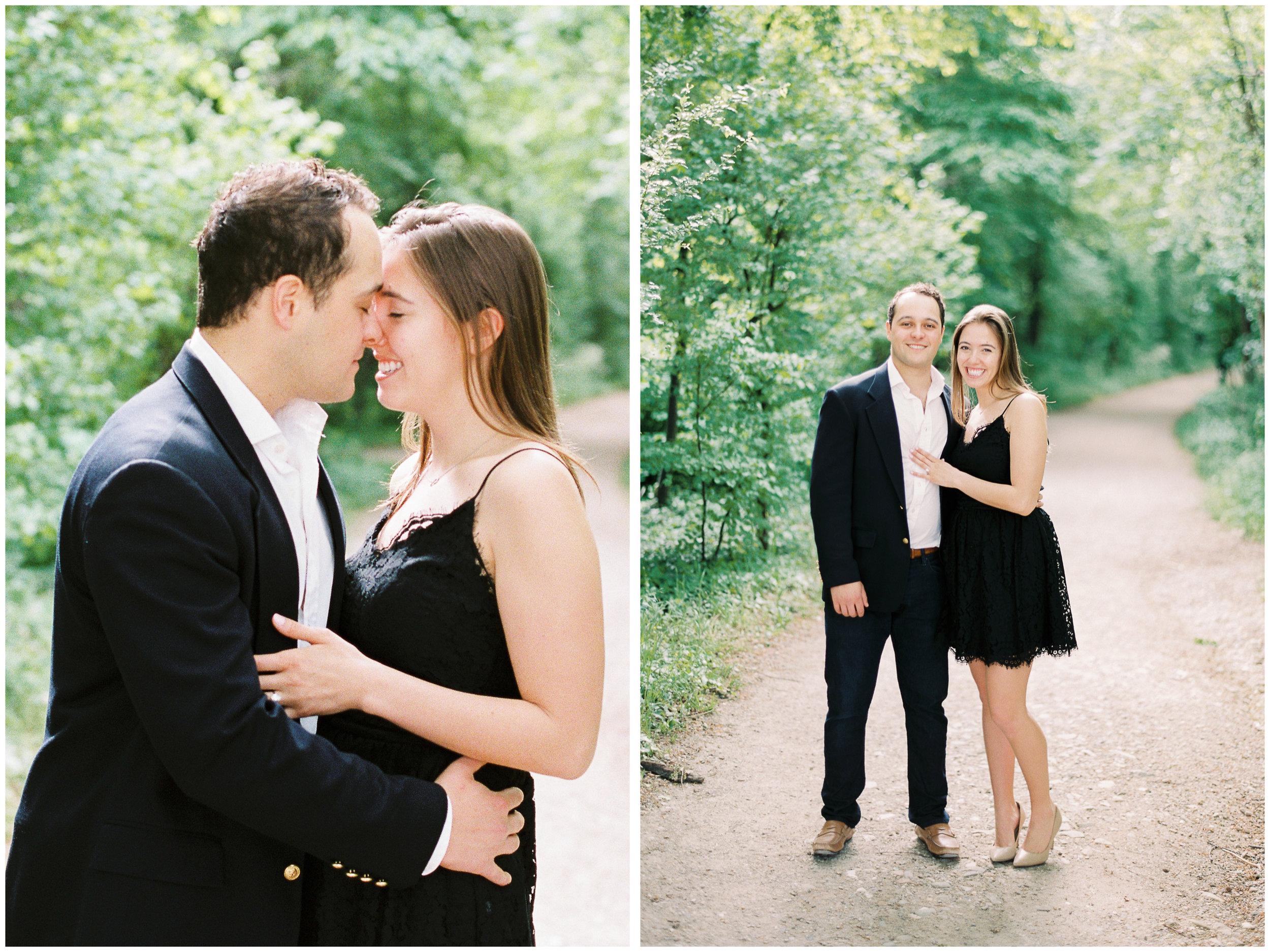 Secret Engagement Session | The Gloriette, Vienna | Michelle Mock Photography | Film Photographer | Contax 645 | Fuji400H