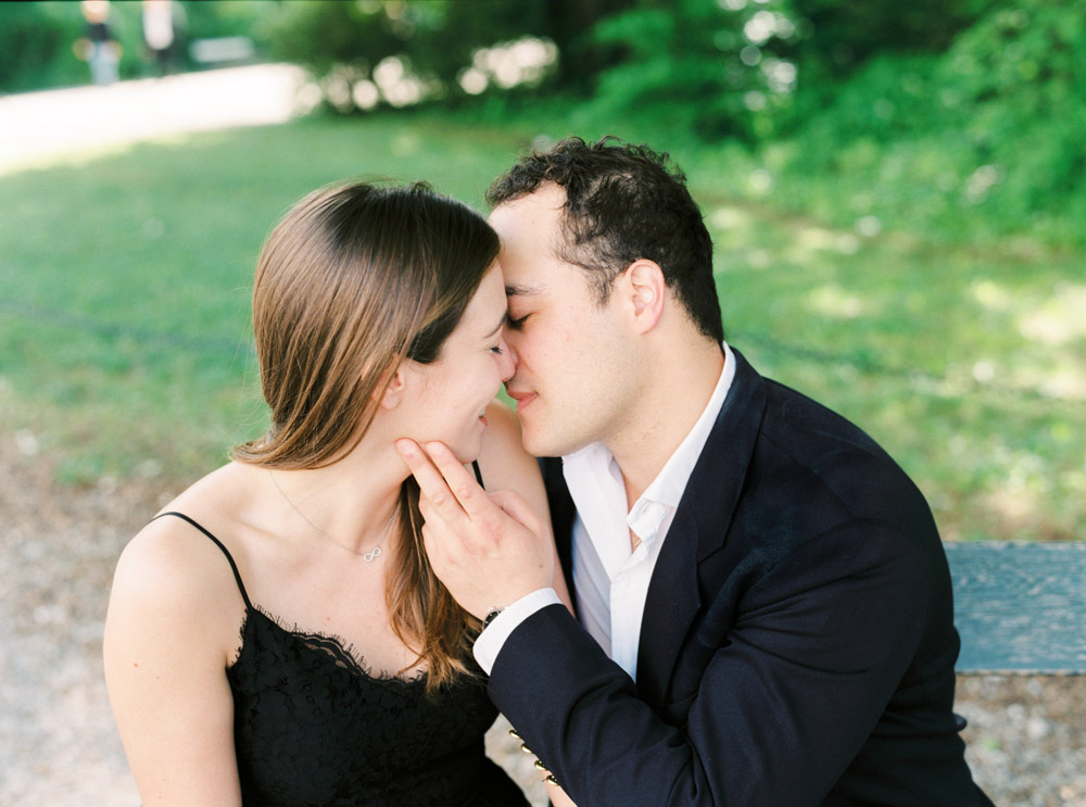 Engagement Session | The Gloriette, Vienna | Michelle Mock Photography | Film Photographer | Contax 645 | Fuji400H
