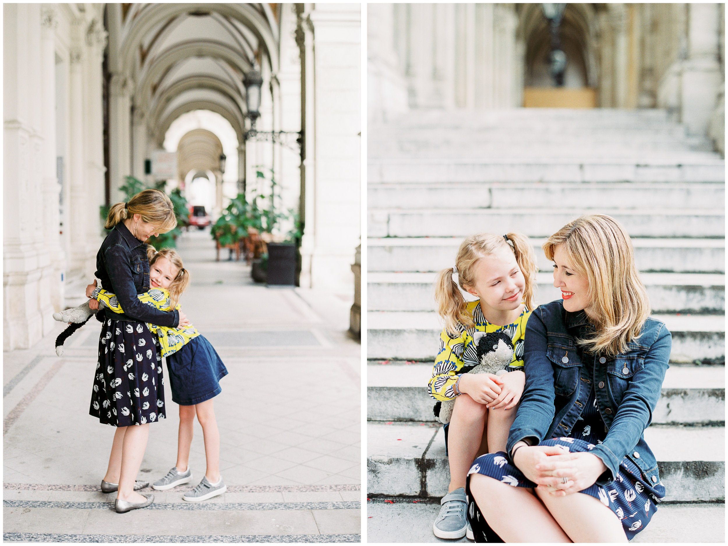 Mother and Daughter film photo session in Austria