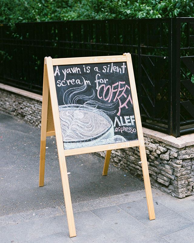 I'm not going to deny it, because you're right coffee sign. You're absolutely right. ☕️ Taken on a #contax645 on #fujinps160, developed and scanned by @carmencitalab.