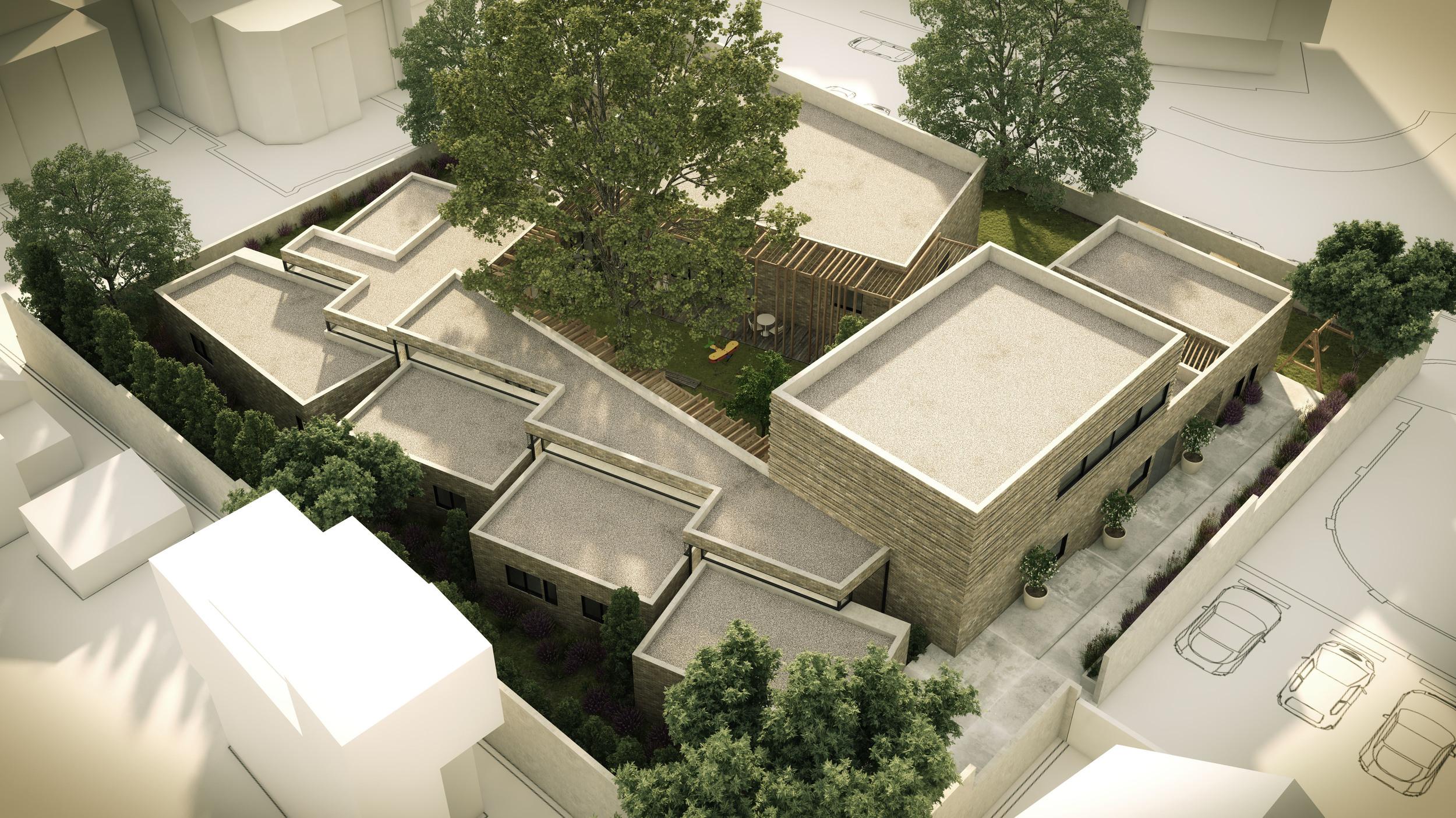 Proposed design of Shelter