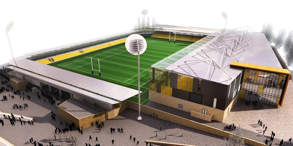 Proposed Stadium design
