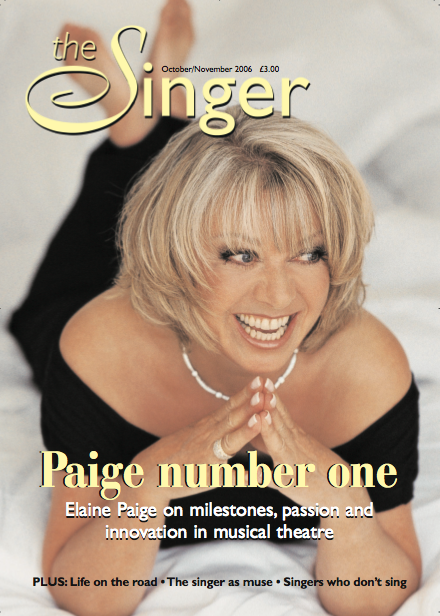 In conversation with Elaine Paige THE SINGER