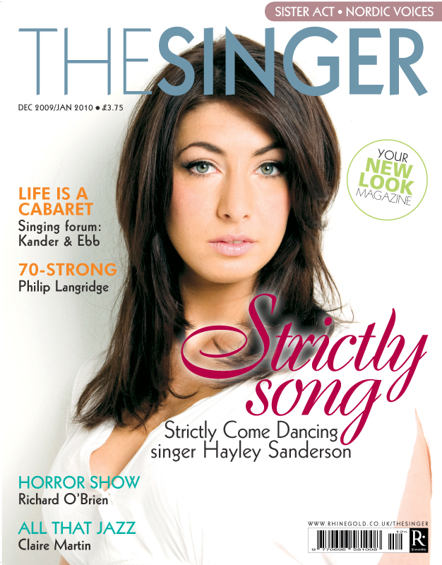 Strictly Come Dancing singer Hayley Sanderson THE SINGER