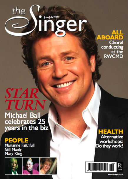 Michael Ball celebrates 25 years in show business THE SINGER
