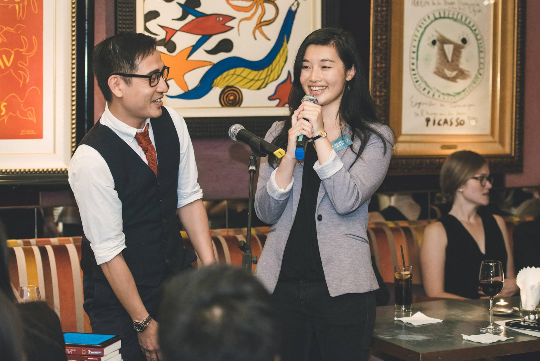 Speaker Mr. Jason Ng & RTB Teammate Leanne!