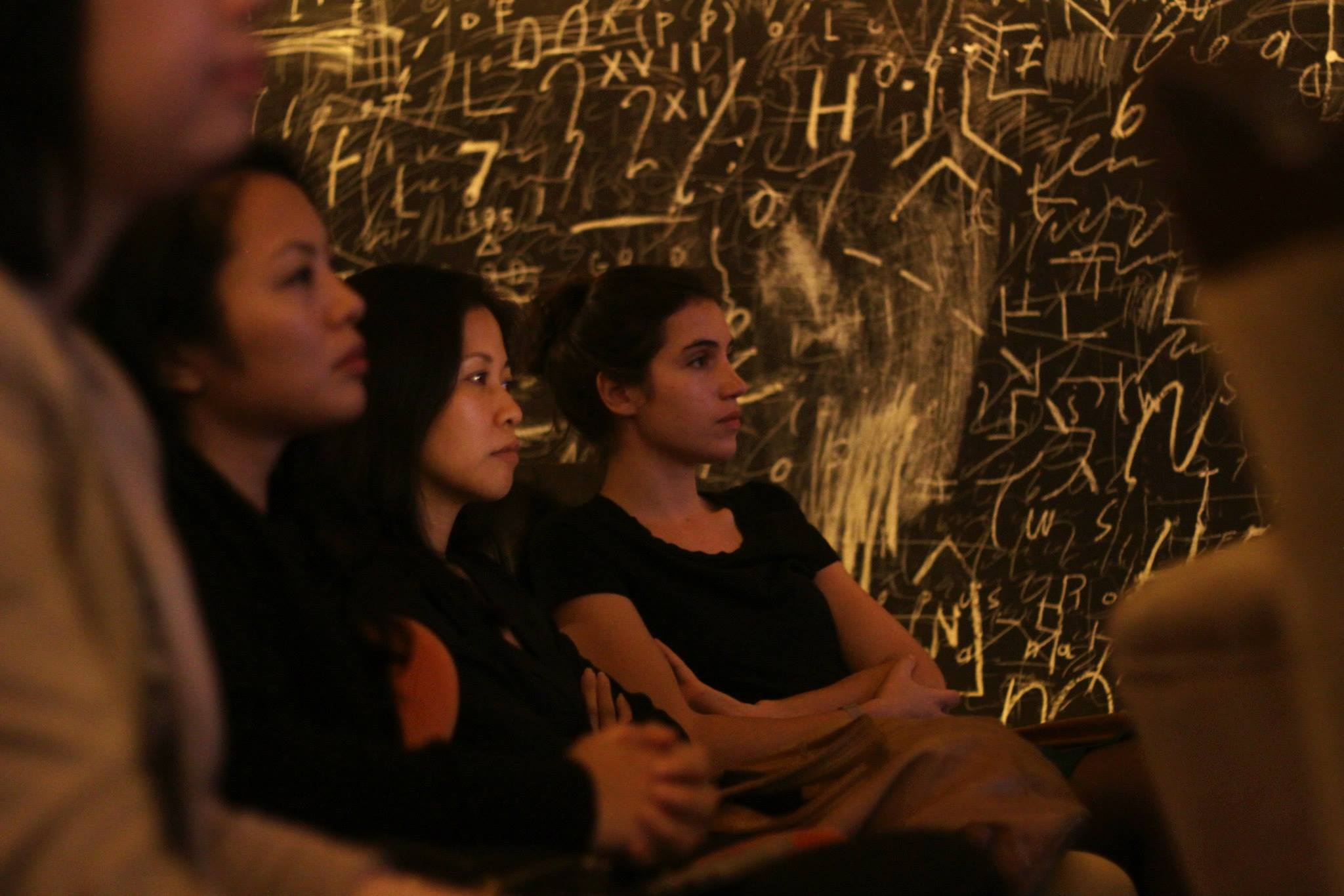Attendees at Mr. Harada's talk on Social Architecture