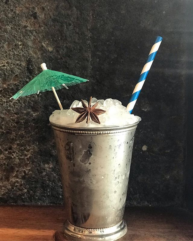 New hot weather drinks out today! This is the Crochet Bikini our take on sky juice 🥤 🇧🇸 ! @nydistilling Dorothy Parker gin, Gordon's gin, coconut water, fresh pineapple juice, sweetened condensed milk and St. Elizabeth Allspice Dram 🌴. 🐄 . 🍍. 🥥. #brooklyncocktails #prospectheights #washingtonave #skyjuice #gullywash #brooklynbar #gin #coconutwater #tiki Ish