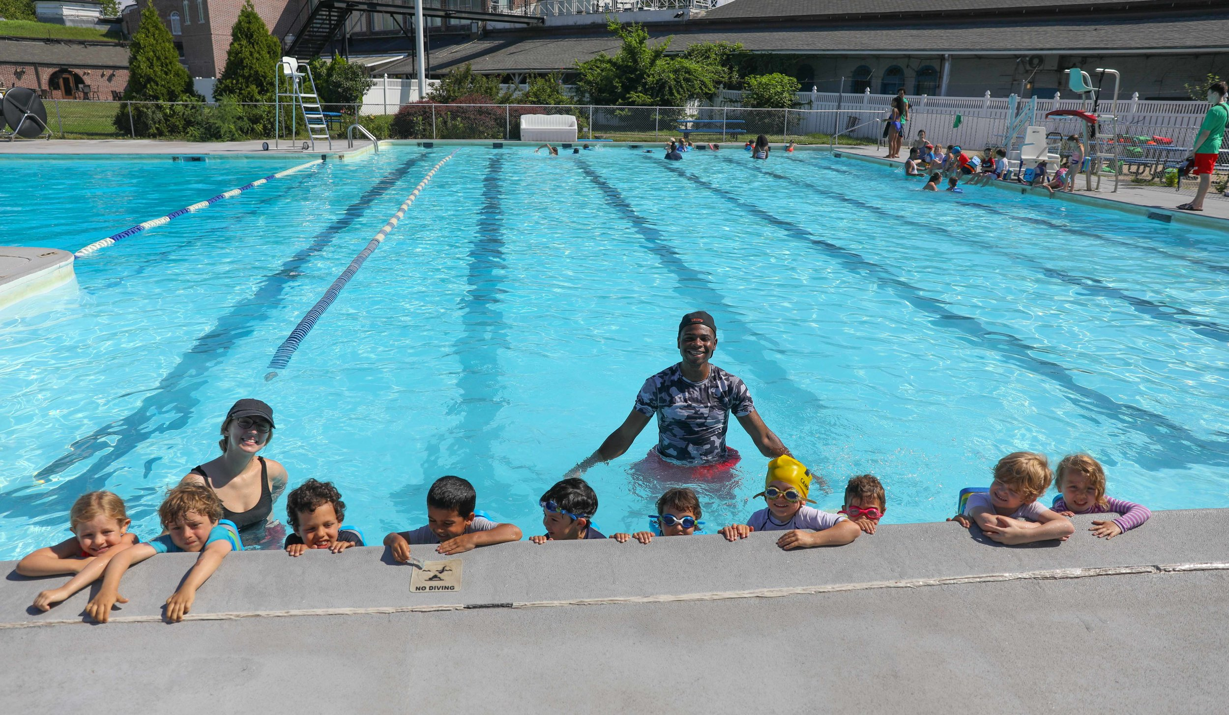 - We offer swim instruction twice a week right here in Brooklyn. Led by our own aquatics director, Lauren, and a dedicated team of Beansprouts' lifeguards, we spend the summer teaching the fundamentals of swimming - and allowing children to gain experience and comfortability in the water.