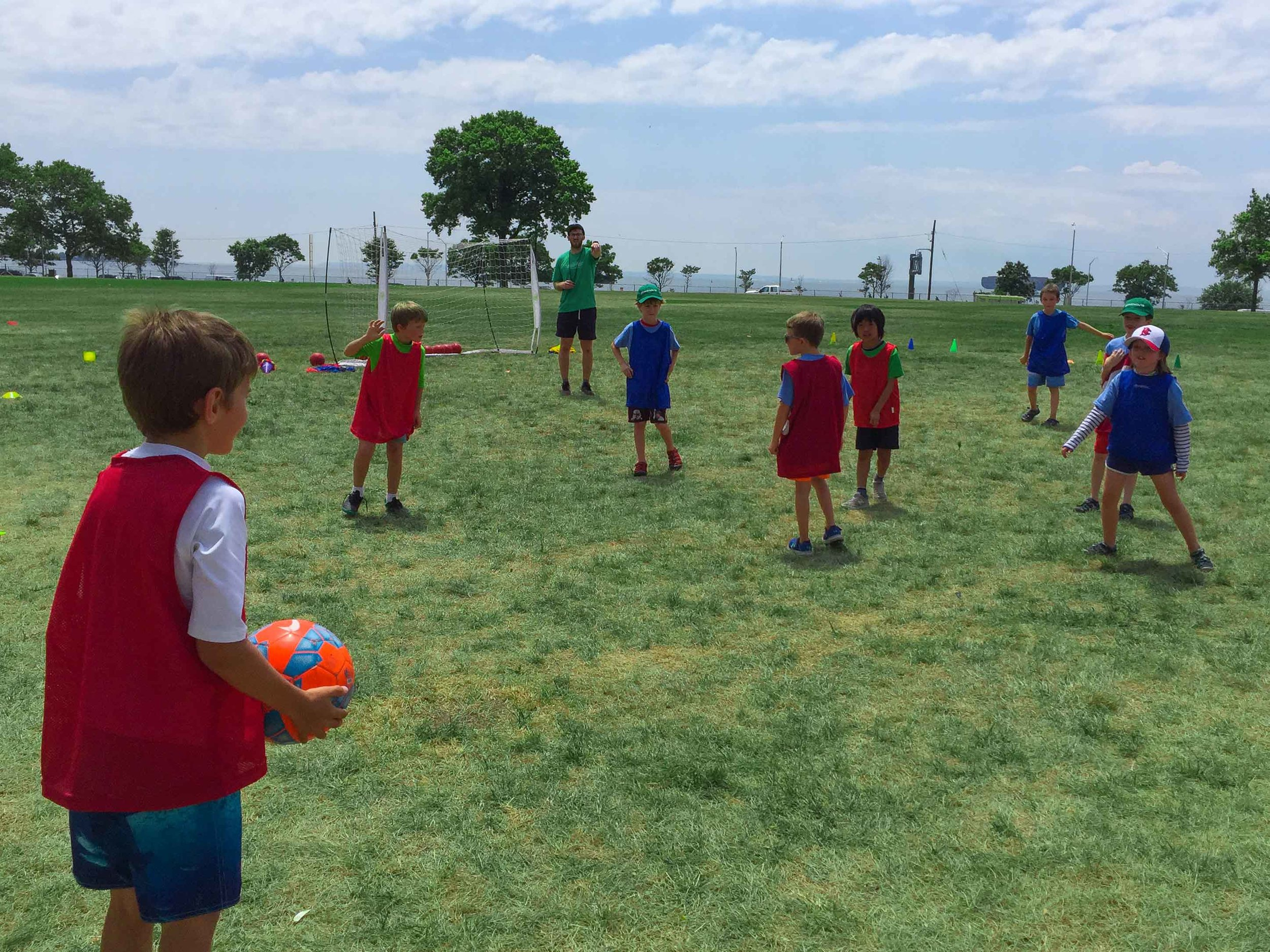 Camp Athletics - Our skilled coaches instruct campers in weekly soccer, as well as a diverse range of sports, at any level. While we hone our skills, teamwork and sportsmanship are always at the forefront of what we do.