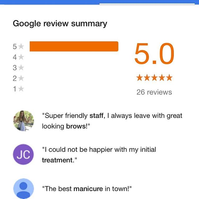 Loving all the google reviews! Thank you to all our lovely clients who take time out of their day to post a review, it's greatly appreciated @cobhamclinic_healthandbeauty