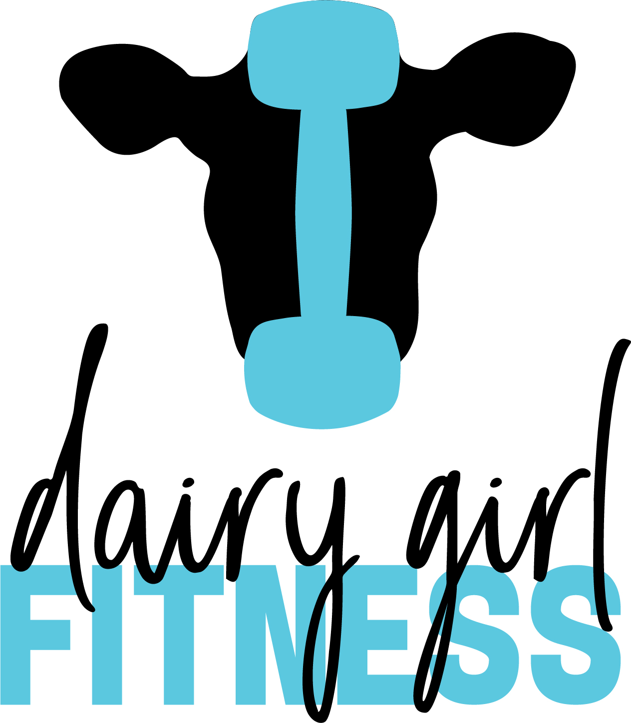 The Final logo for Dairy Girl Fitness