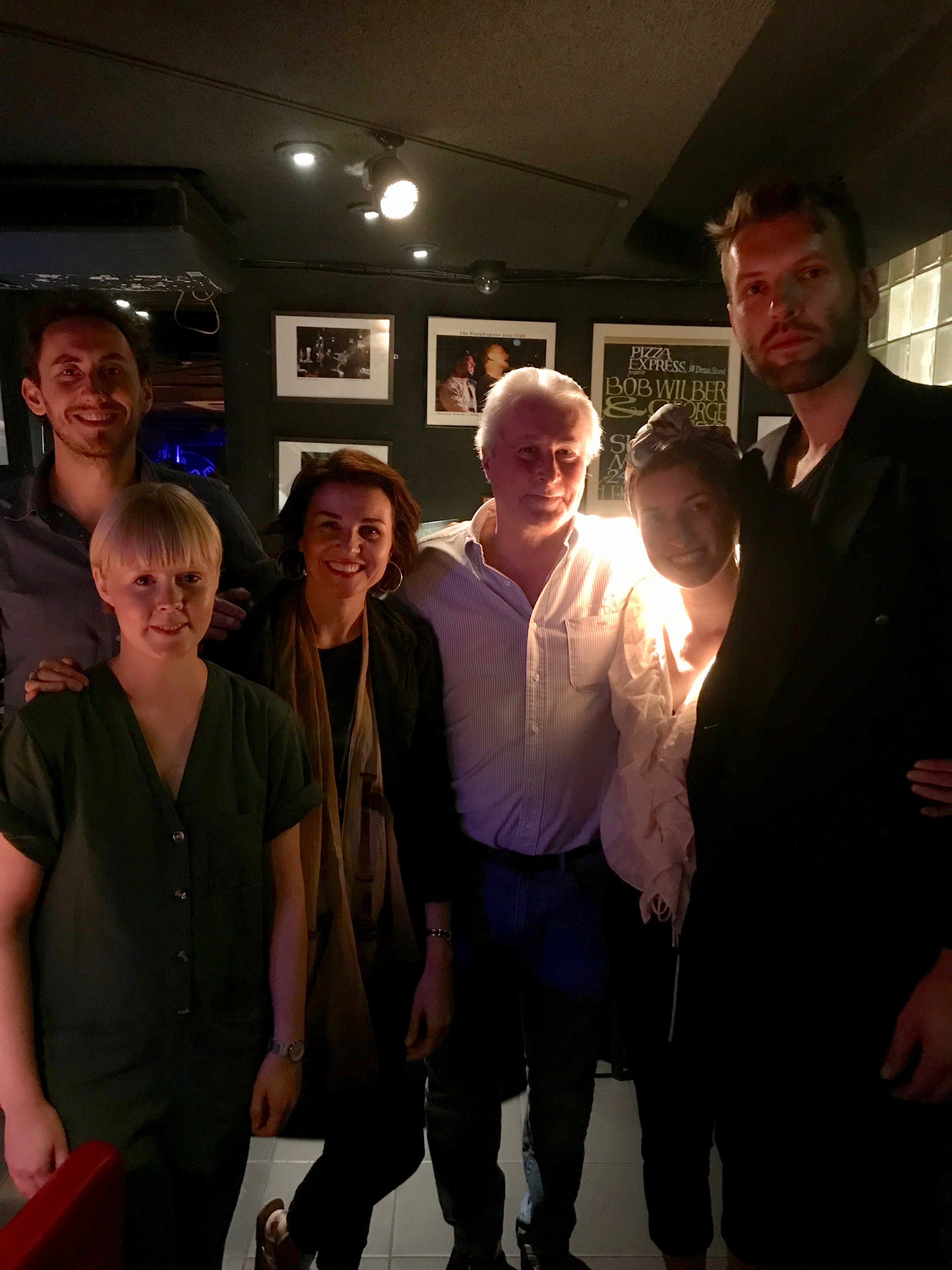Left to Right: Alex Munk, Helena Kay, Alina Bzhezhinska, Martin Hummel, Jessica Radcliffe, Nick Costley-White.