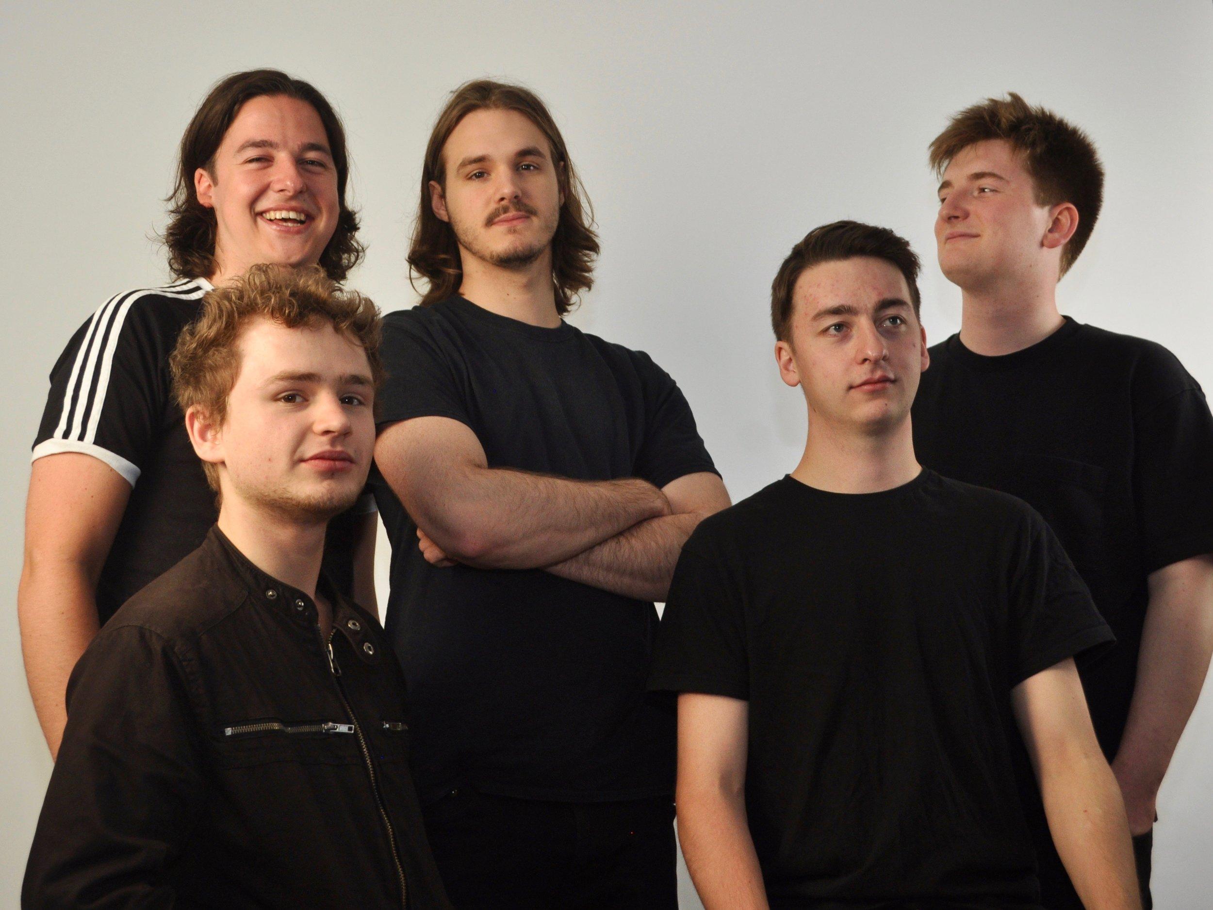 Rory Ingham (trombone), Toby Comeau (keys), Joe Lee `(bass), Dom Ingham (violin/vocals), Jonny Mansfield (drums/vibes).
