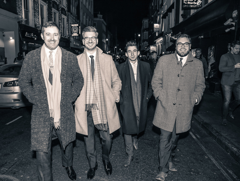 Left to Right: Rick Simpson, Leo Richardson, Ed Richardson, Tim Thornton.