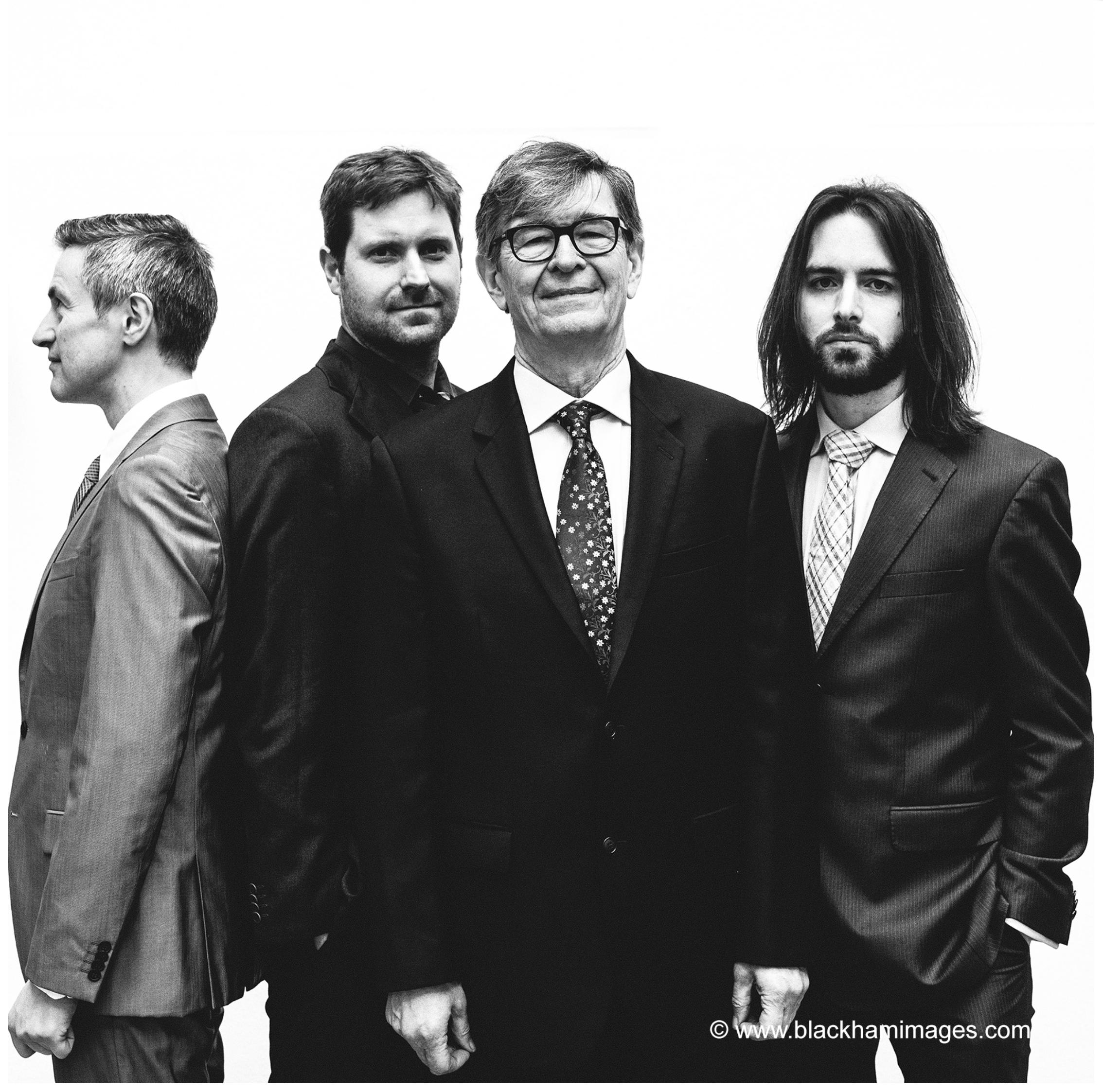 Left to Right: Dave O'Higgins, Wesley Gibbens, Darius Brubeck, Matt Ridley.