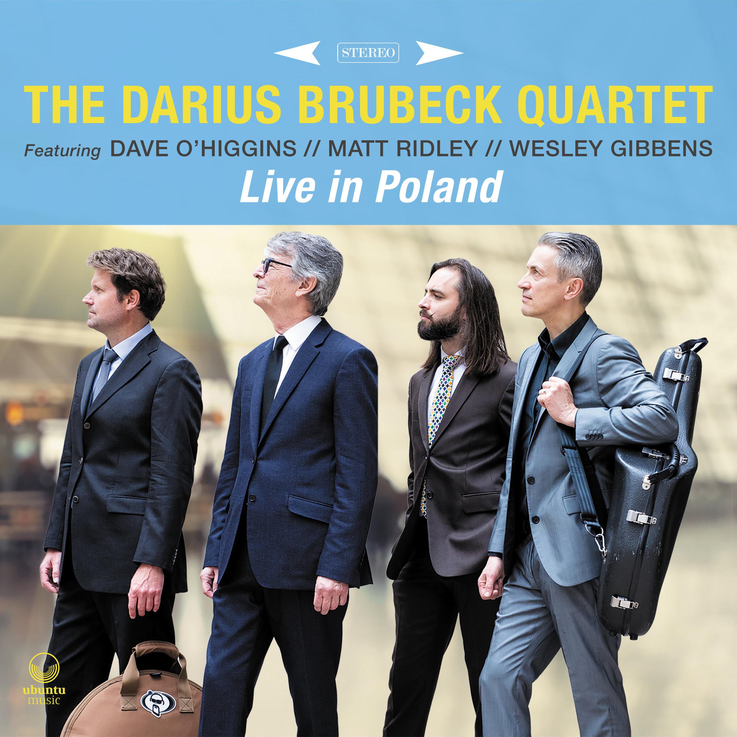The Darius Brubeck Quartet / Live in Poland