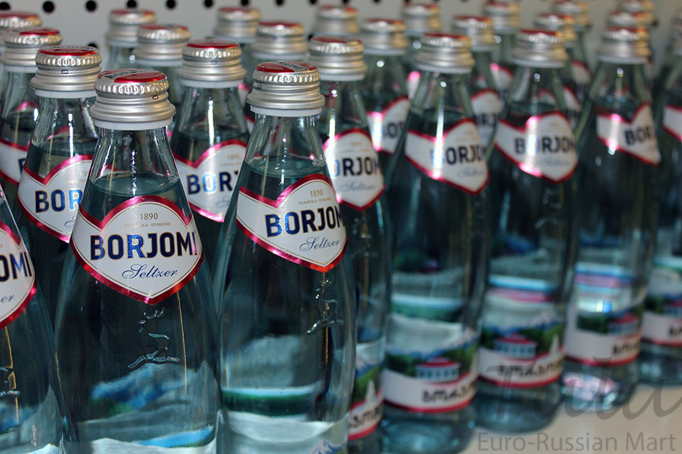 Georgian mineral water Borjomi