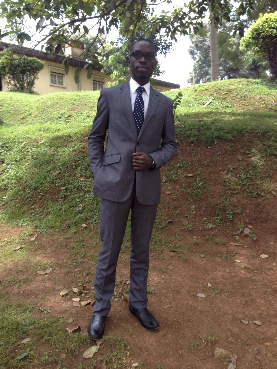 First suit for studying Law Diploma at LDC