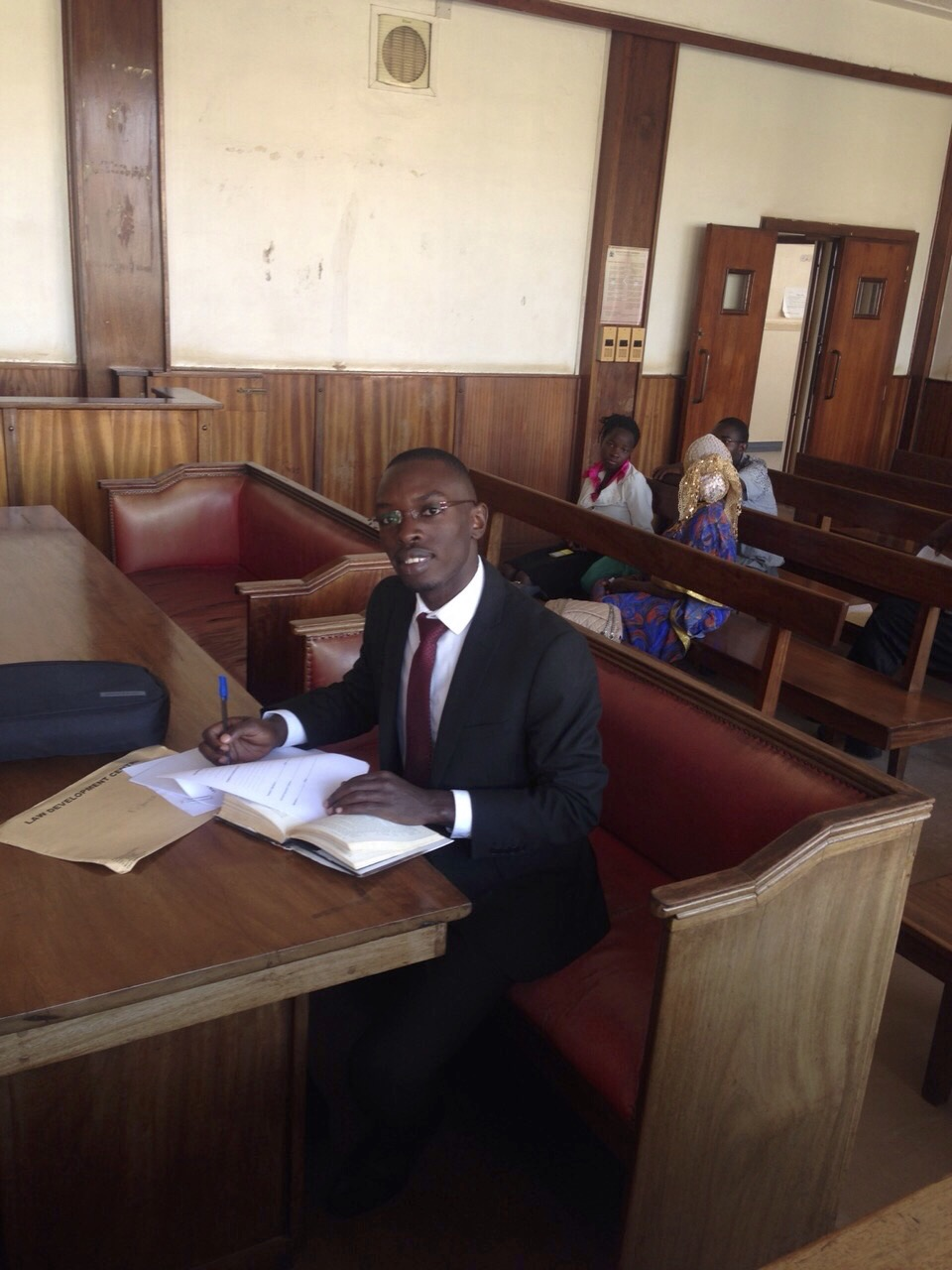 Placement at local Law Courts