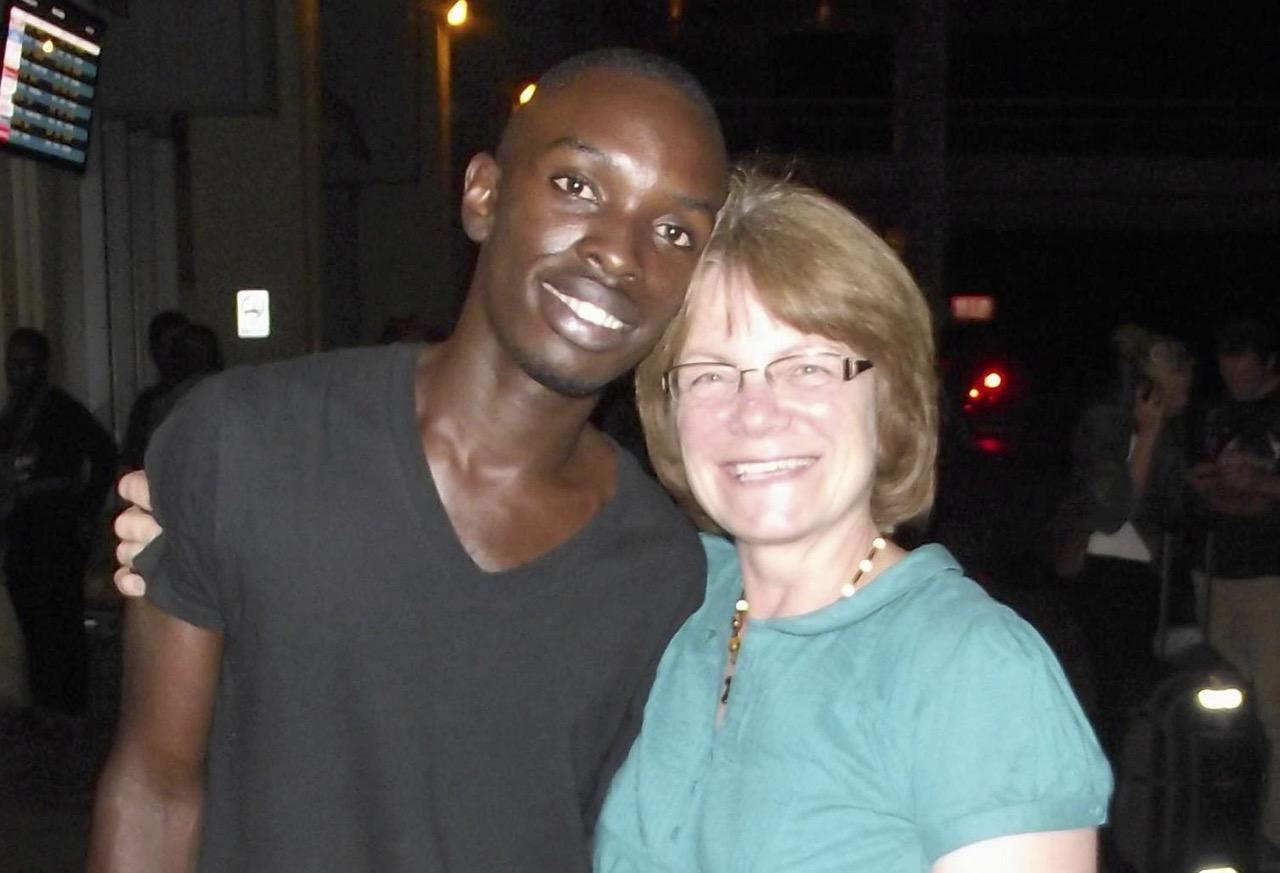 Paul and co-sponsor Debbie 2014