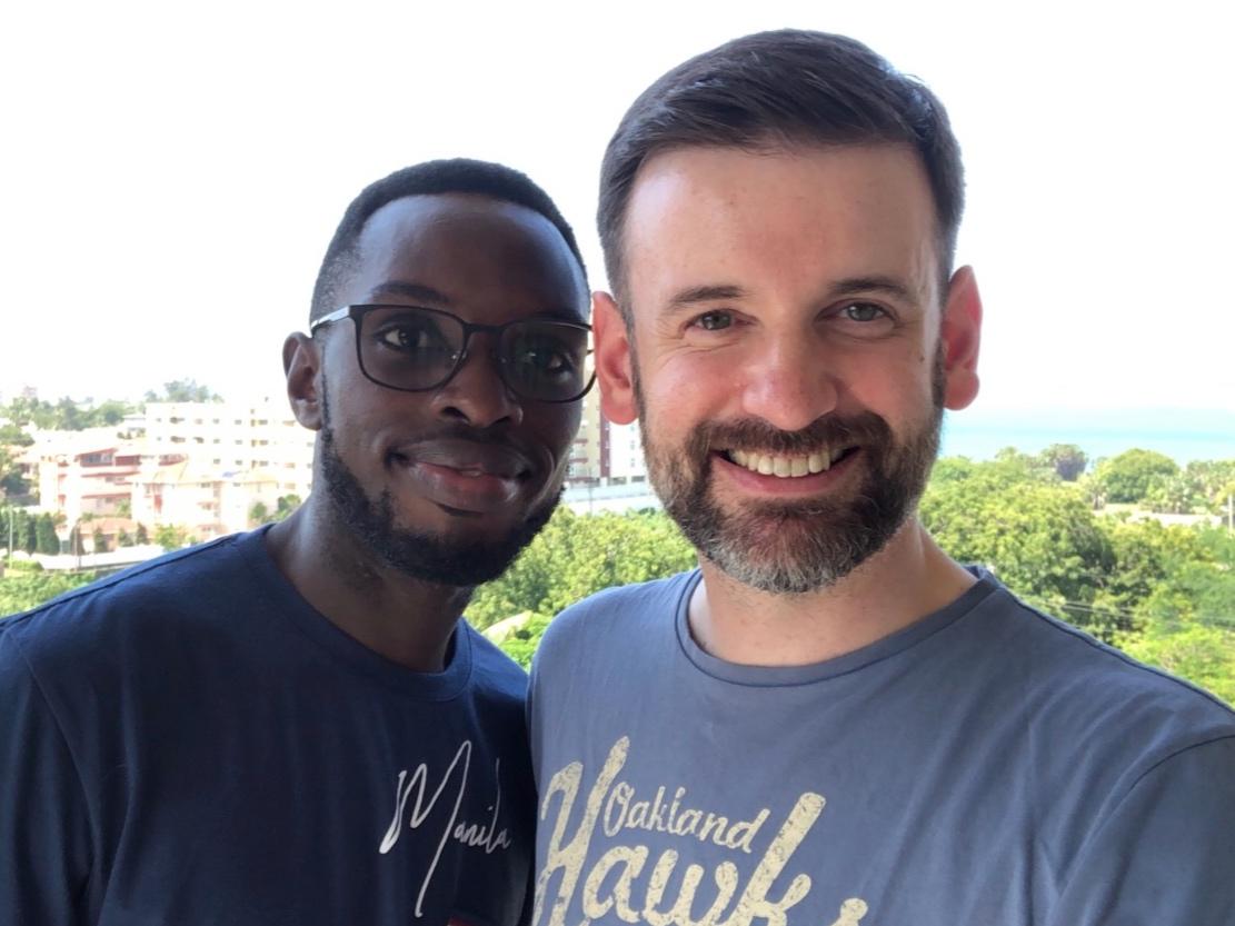 Paul and Colin in Kenya June 2019