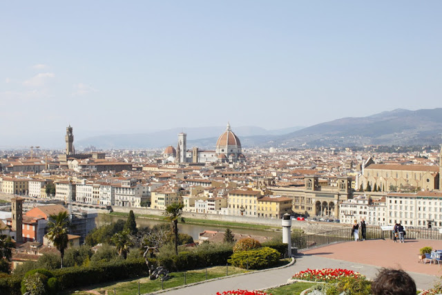 Florence at its loveliest - not a tourist in sight